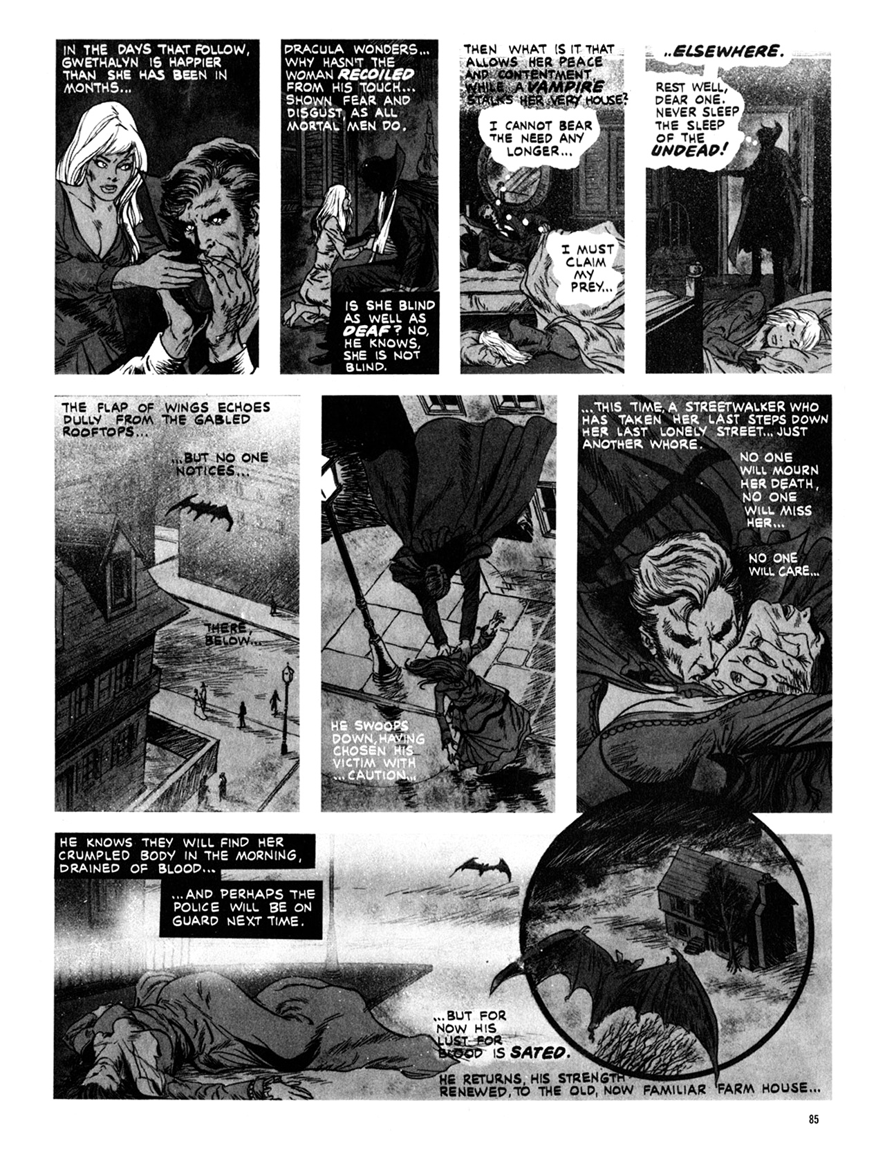 Read online Eerie Archives comic -  Issue # TPB 10 - 86