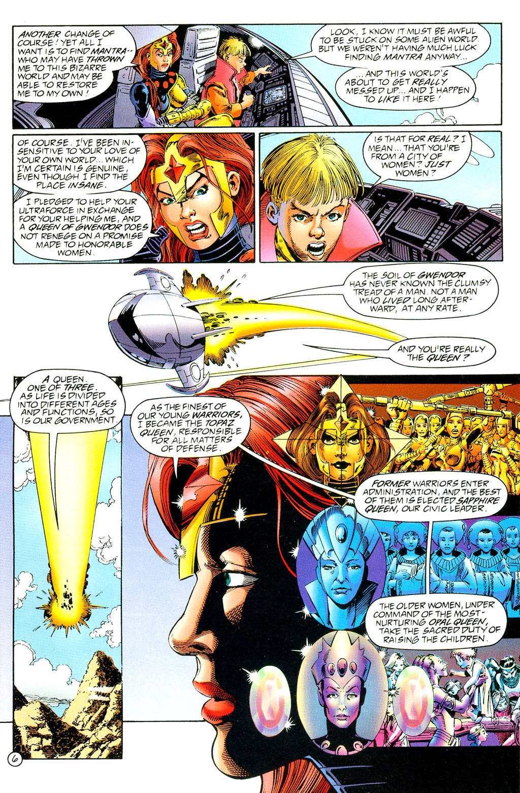 Read online UltraForce (1994) comic -  Issue #3 - 7