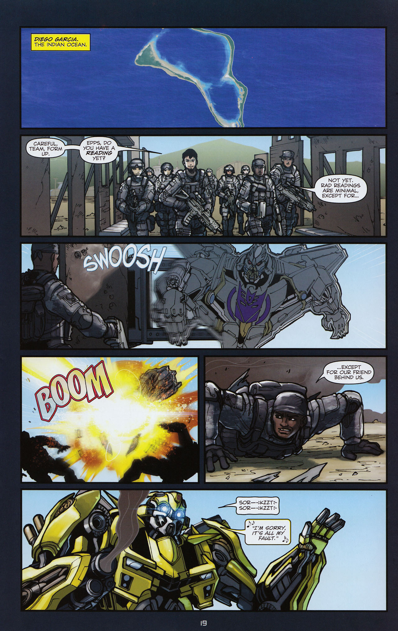 Read online Transformers: Alliance comic -  Issue #3 - 20