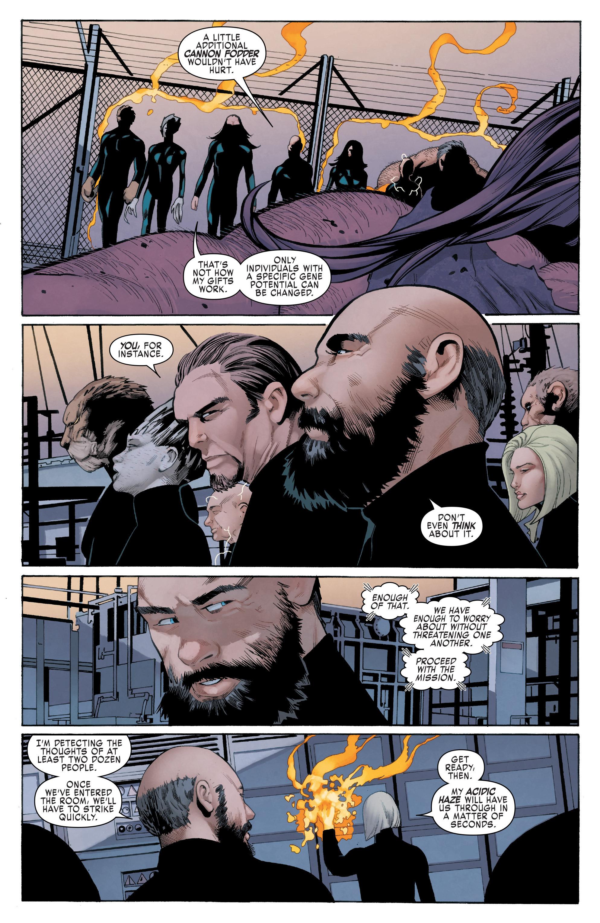 Read online Uncanny X-Men (2016) comic -  Issue #11 - 5