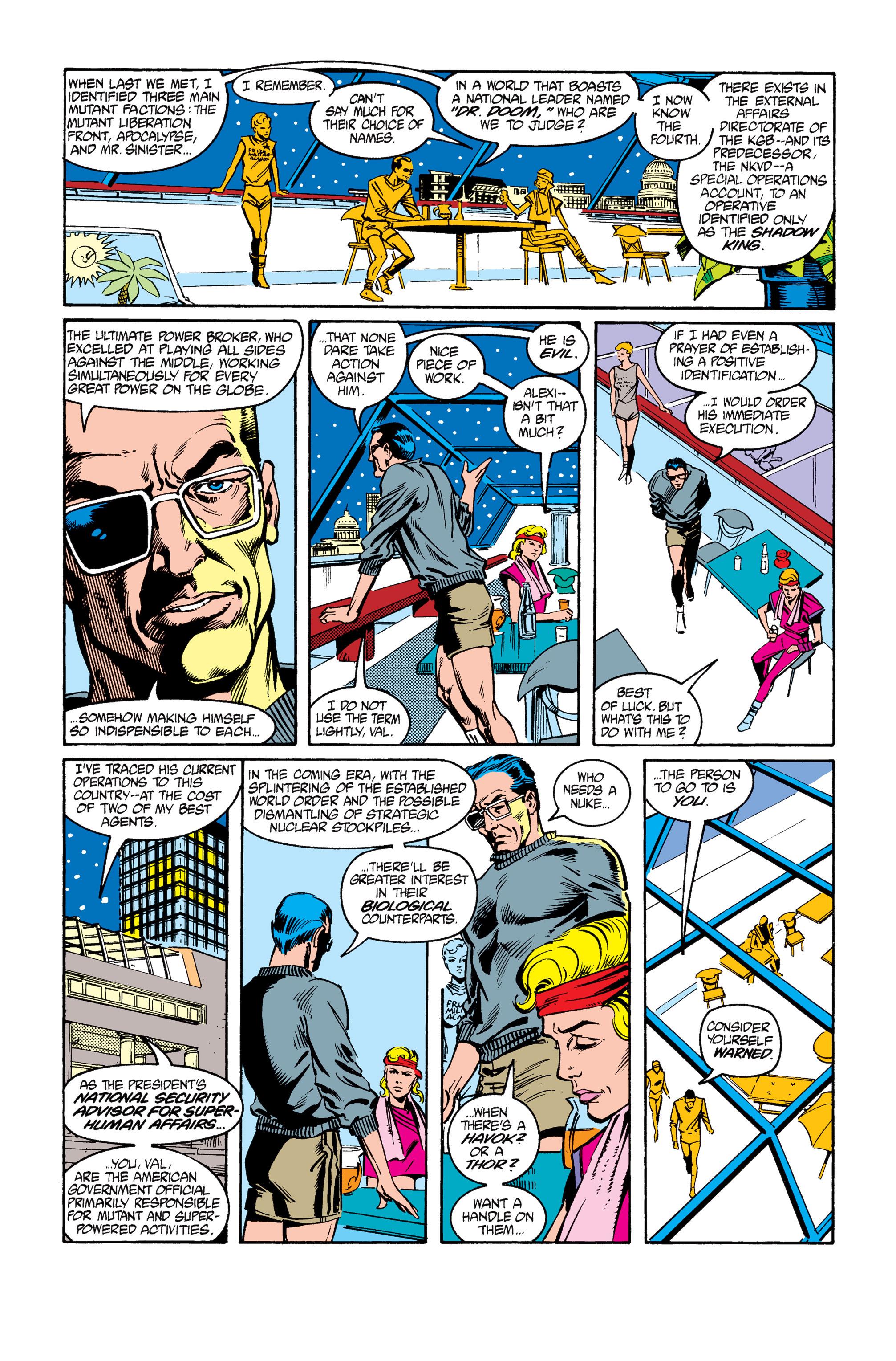 Read online Uncanny X-Men (1963) comic -  Issue #264 - 10