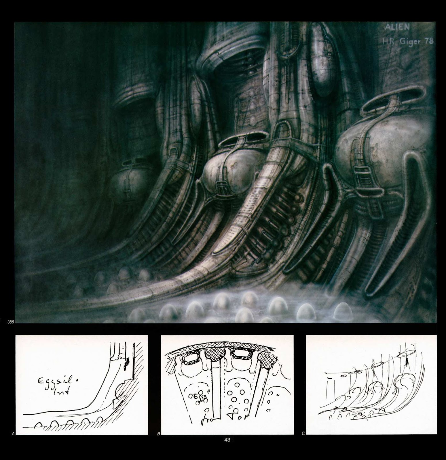 Read online Giger's Alien comic -  Issue # TPB - 45