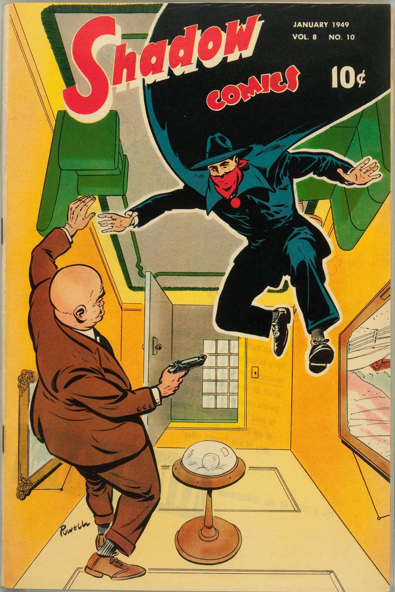 Read online Shadow Comics comic -  Issue #94 - 1