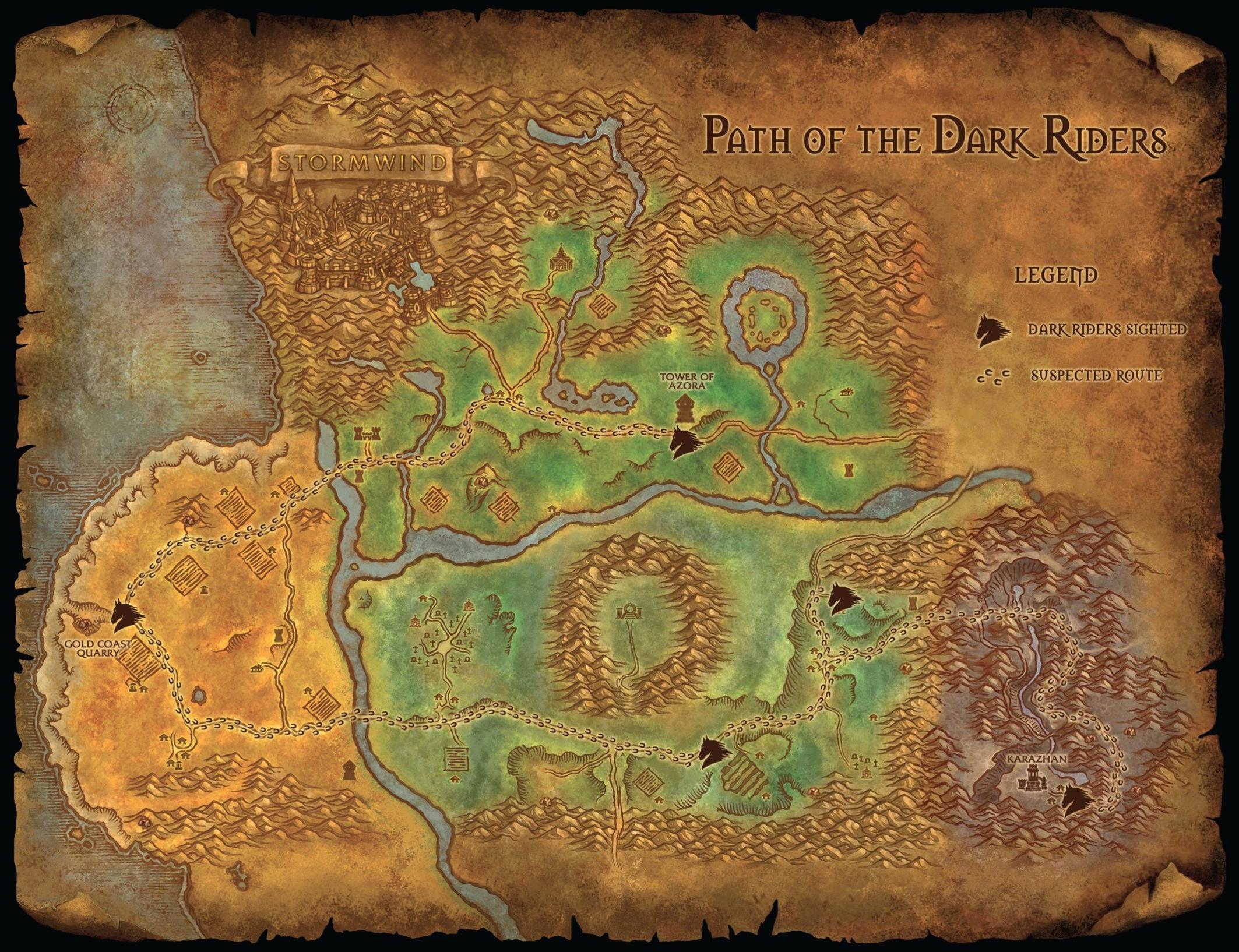Read online World of Warcraft: Dark Riders comic -  Issue # Full - 140