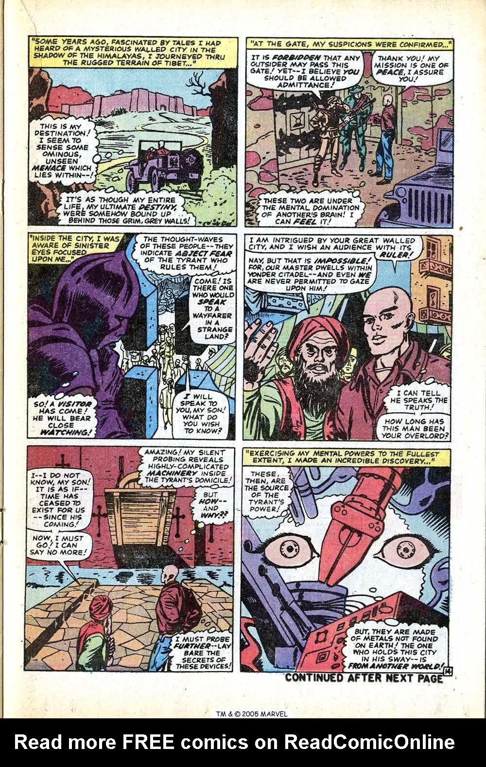 Uncanny X-Men (1963) issue 71 - Page 21