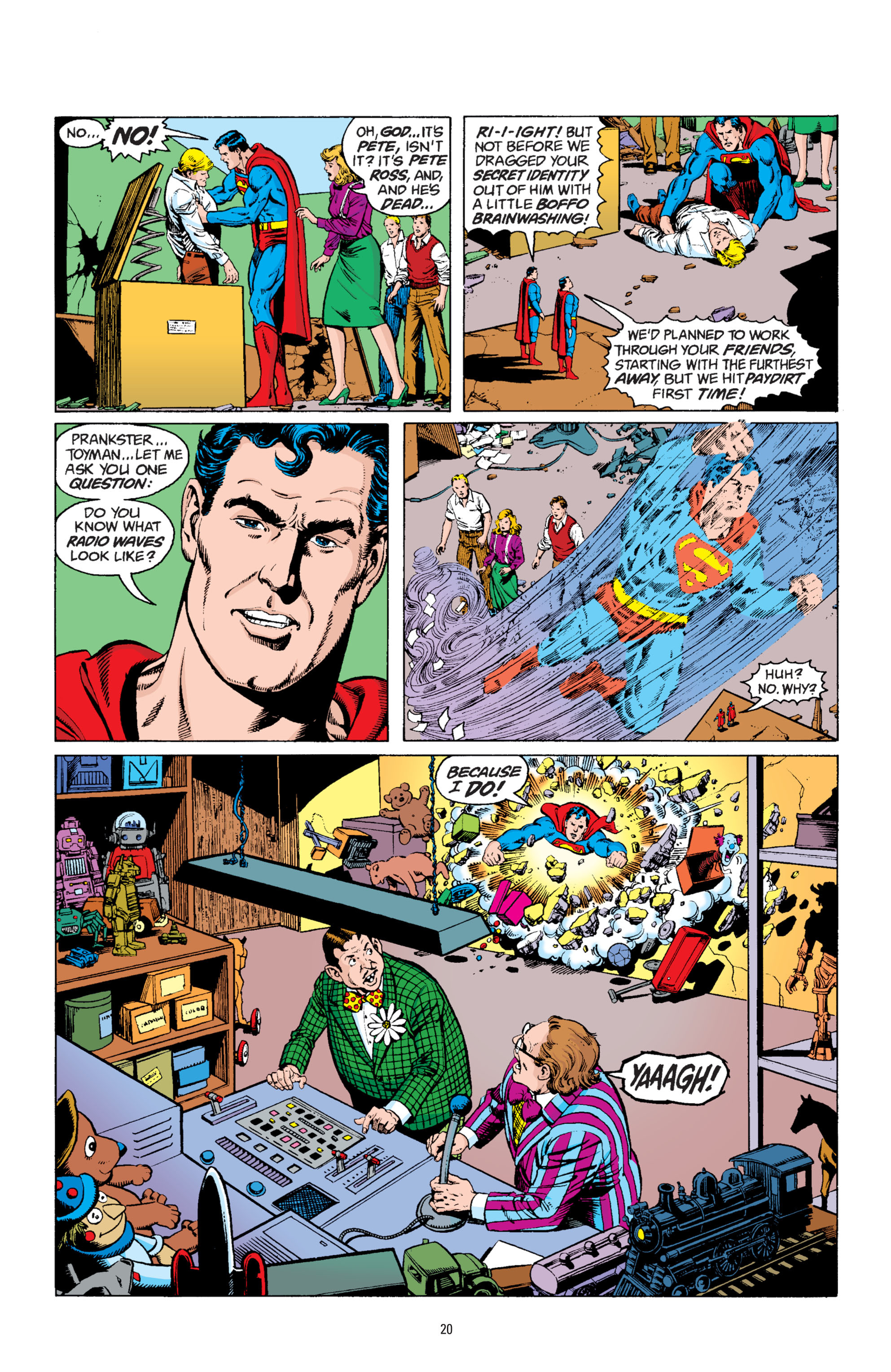 Read online Superman: Whatever Happened to the Man of Tomorrow? comic -  Issue # TPB - 19