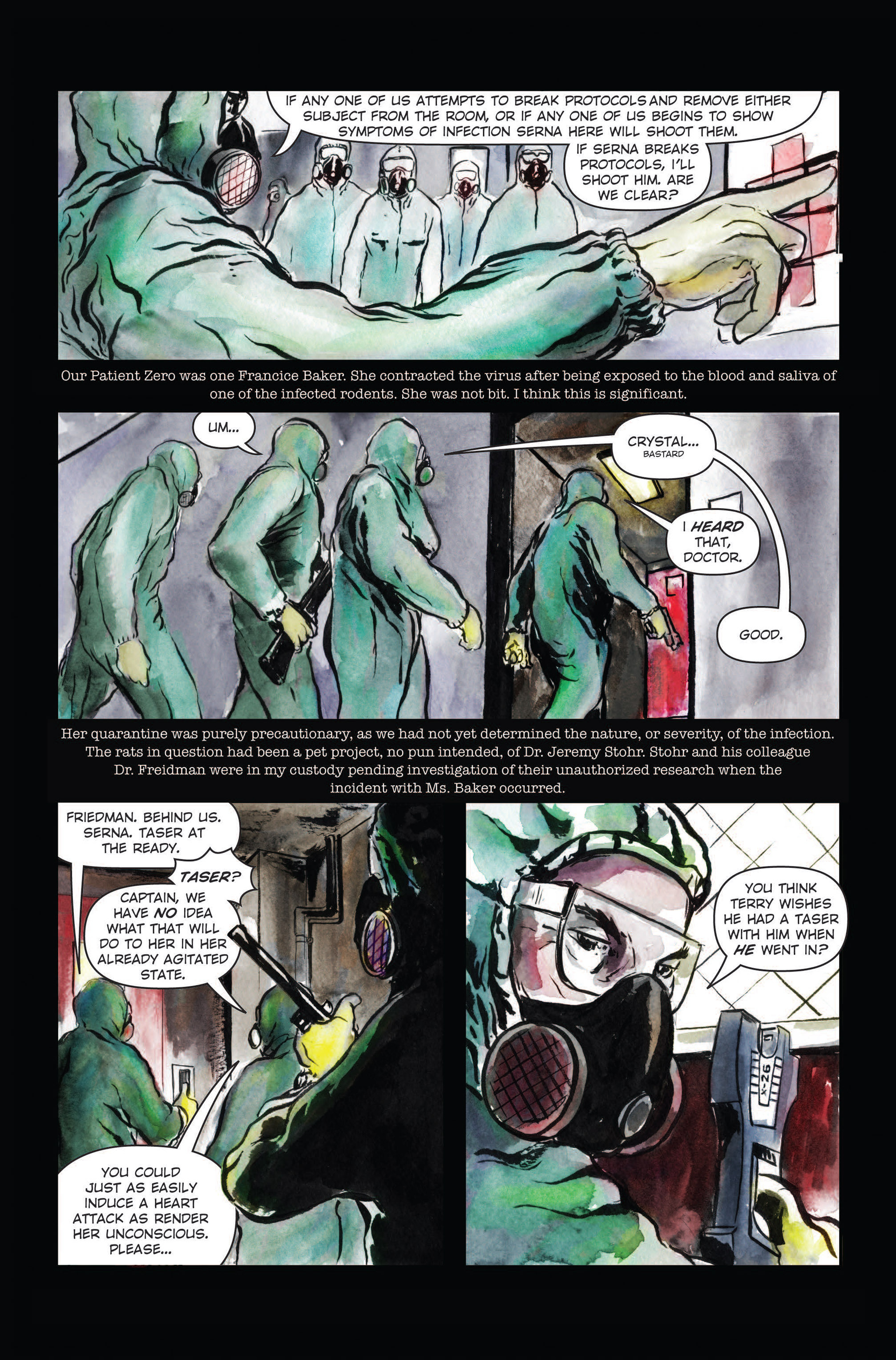 Read online The Final Plague comic -  Issue #3 - 5