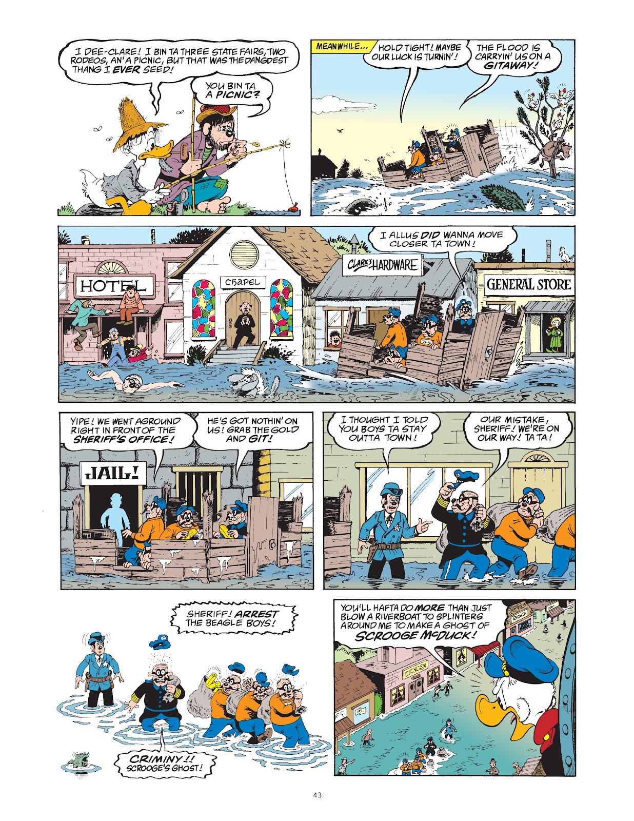 Read online The Complete Life and Times of Scrooge McDuck comic -  Issue # TPB 1 (Part 1) - 50