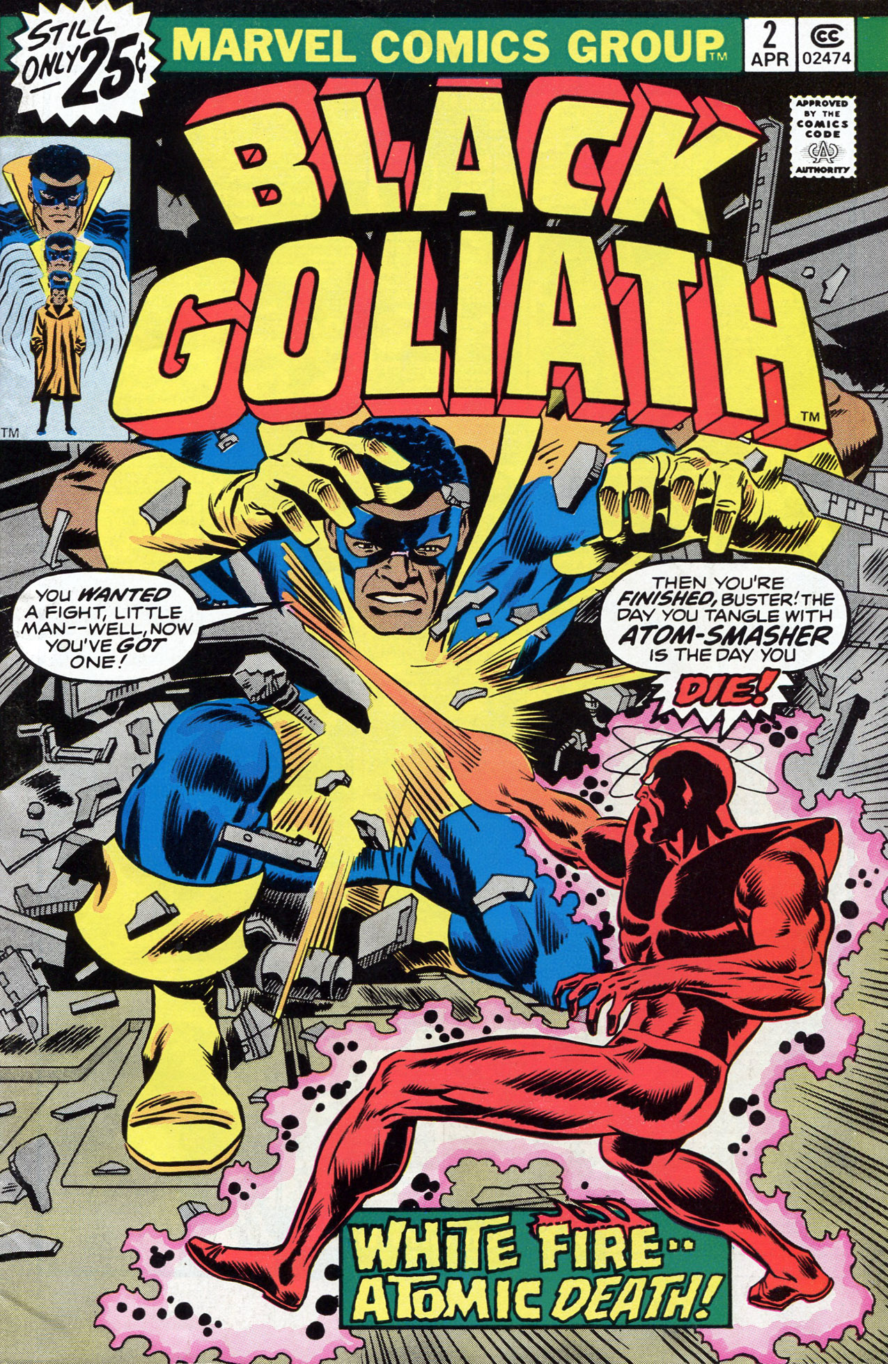 Black Goliath 2 Page 1