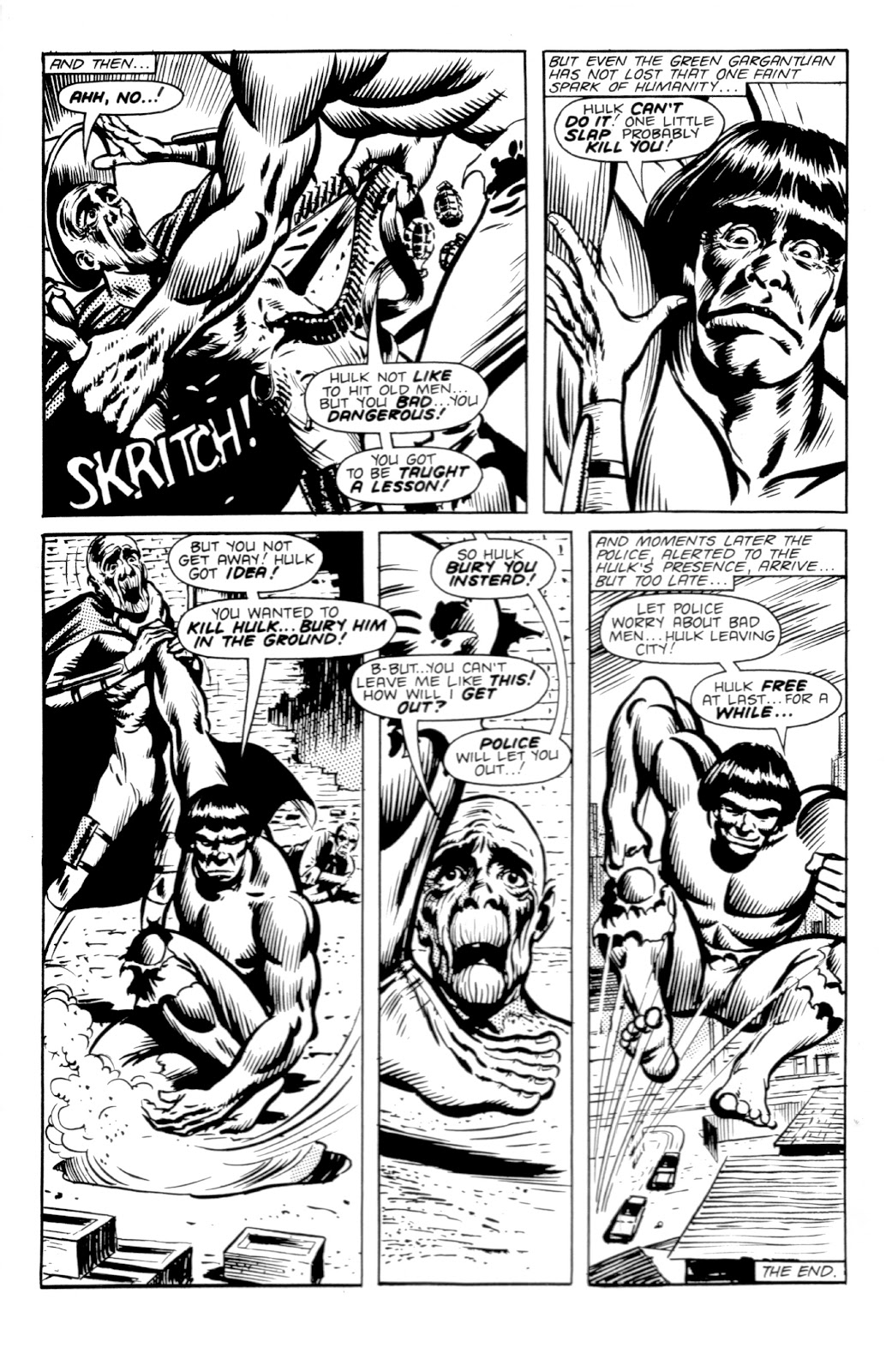 Read online Hulk: From The Marvel UK Vaults comic -  Issue # TPB (Part 2) - 54