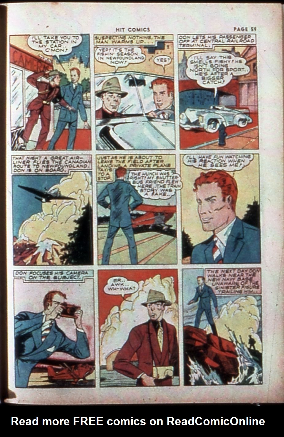 Read online Hit Comics comic -  Issue #14 - 61