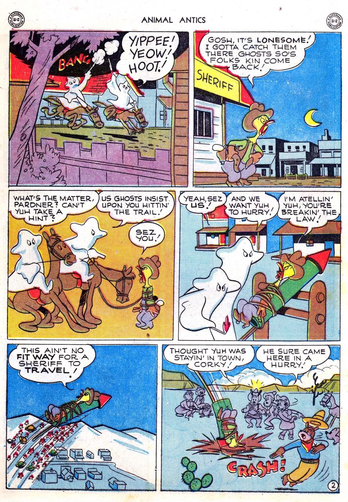 Read online Animal Antics comic -  Issue #5 - 13