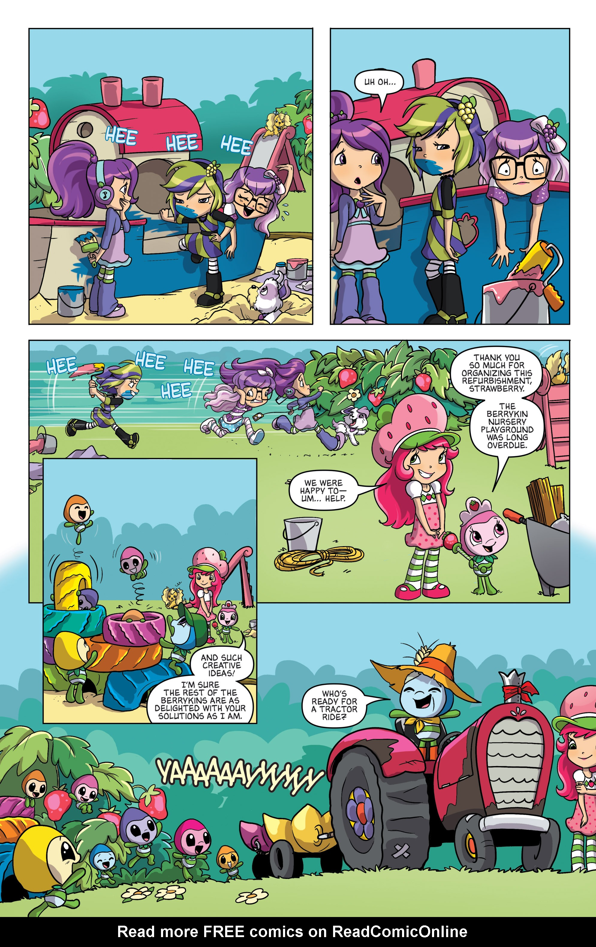 Read online Angry Birds Comics (2016) comic -  Issue #7 - 30
