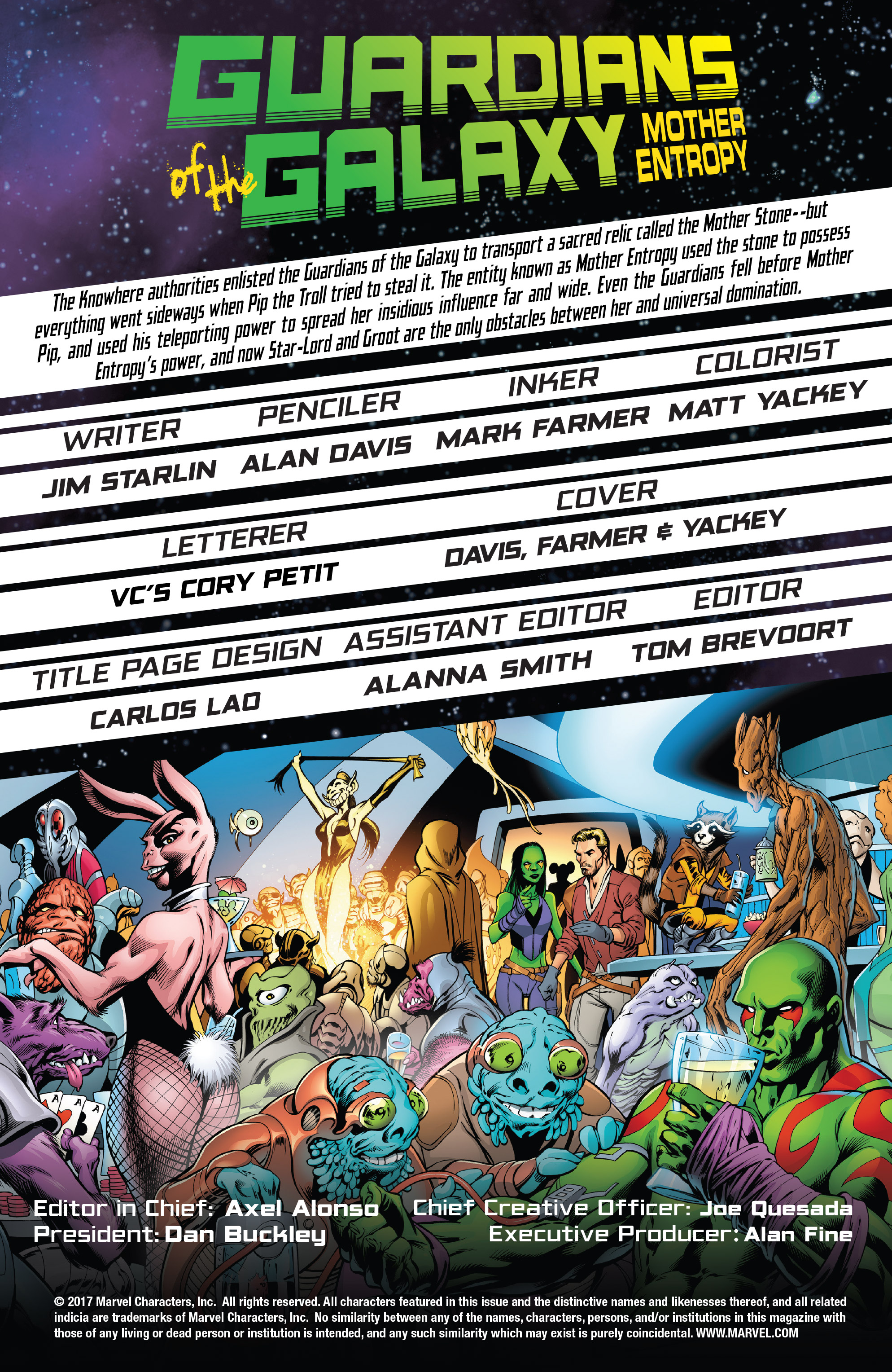 Read online Guardians of the Galaxy: Mother Entropy comic -  Issue #5 - 2
