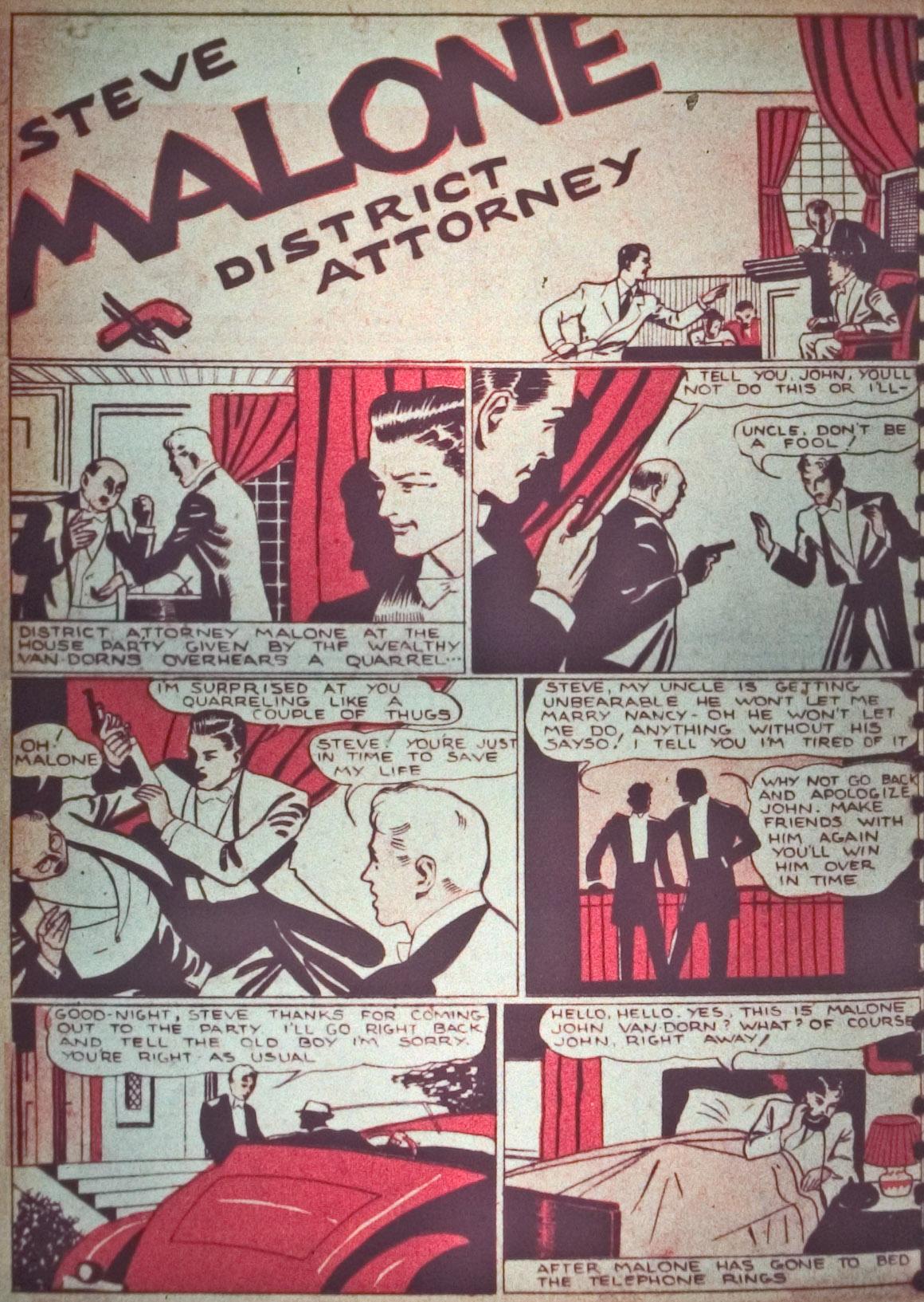 Read online Detective Comics (1937) comic -  Issue #26 - 16