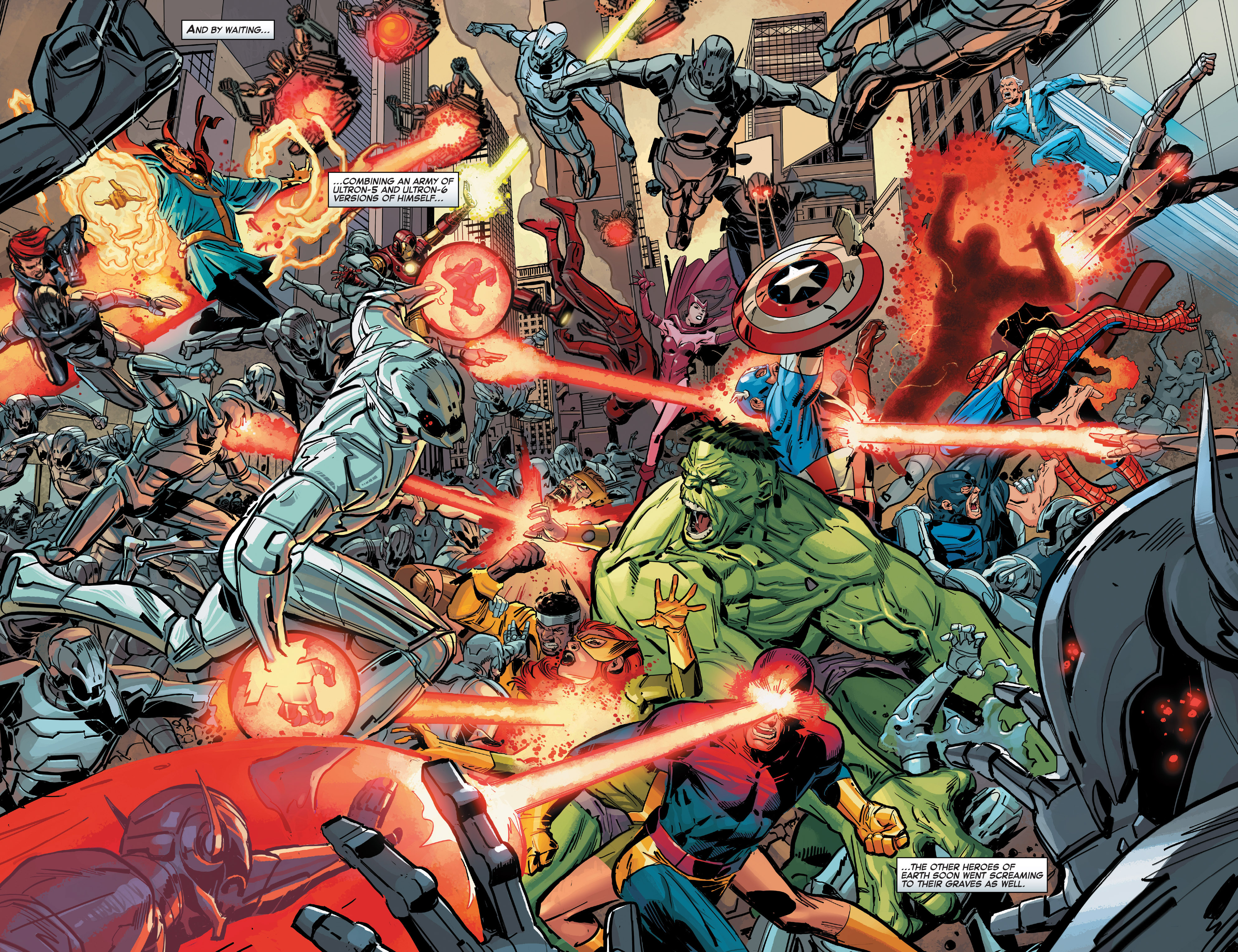 Read online Age of Ultron Vs. Marvel Zombies comic -  Issue #1 - 10