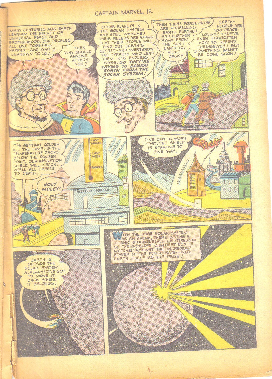 Captain Marvel, Jr. issue 95 - Page 38