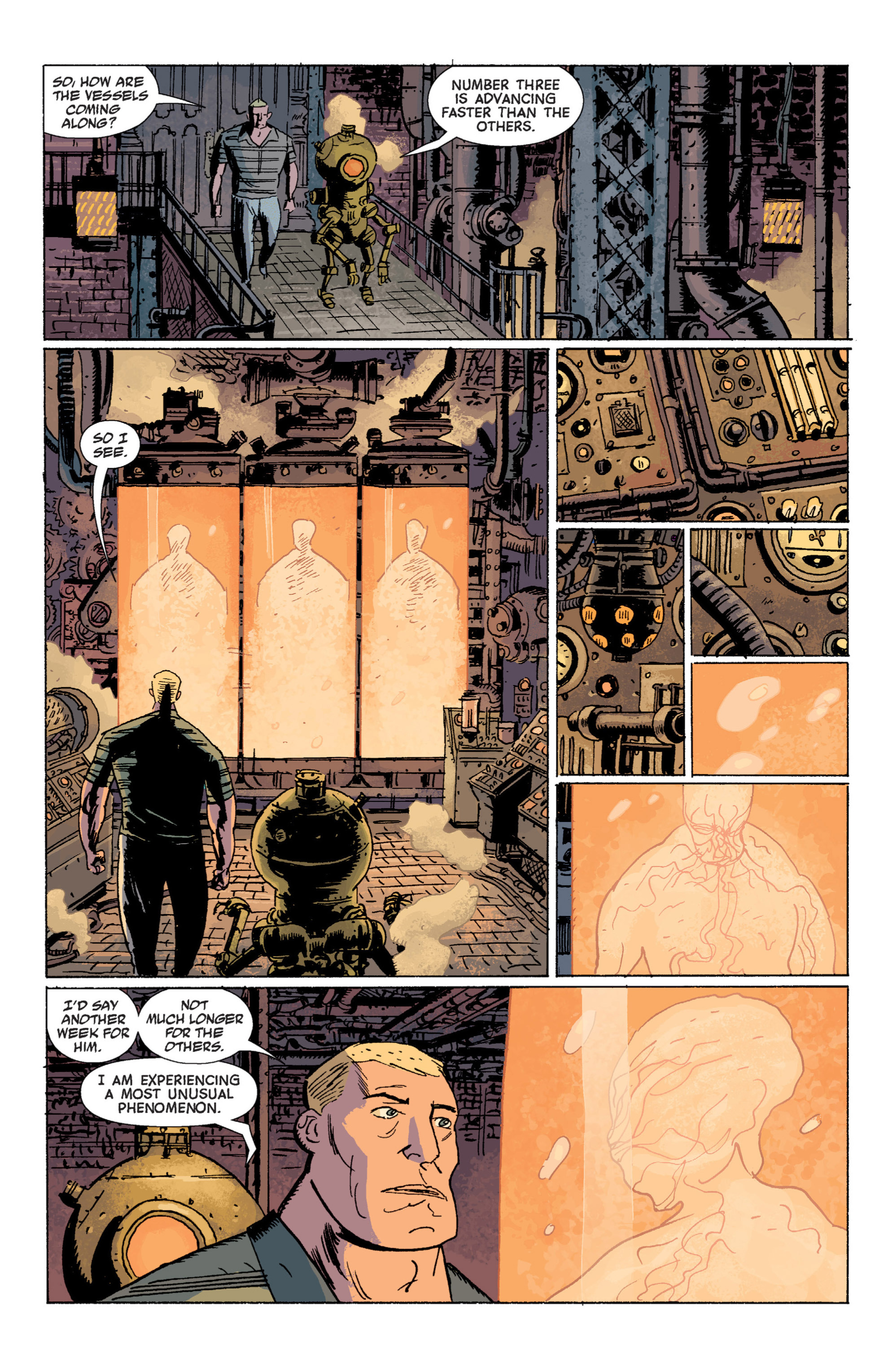 Read online B.P.R.D. (2003) comic -  Issue # TPB 7 - 51
