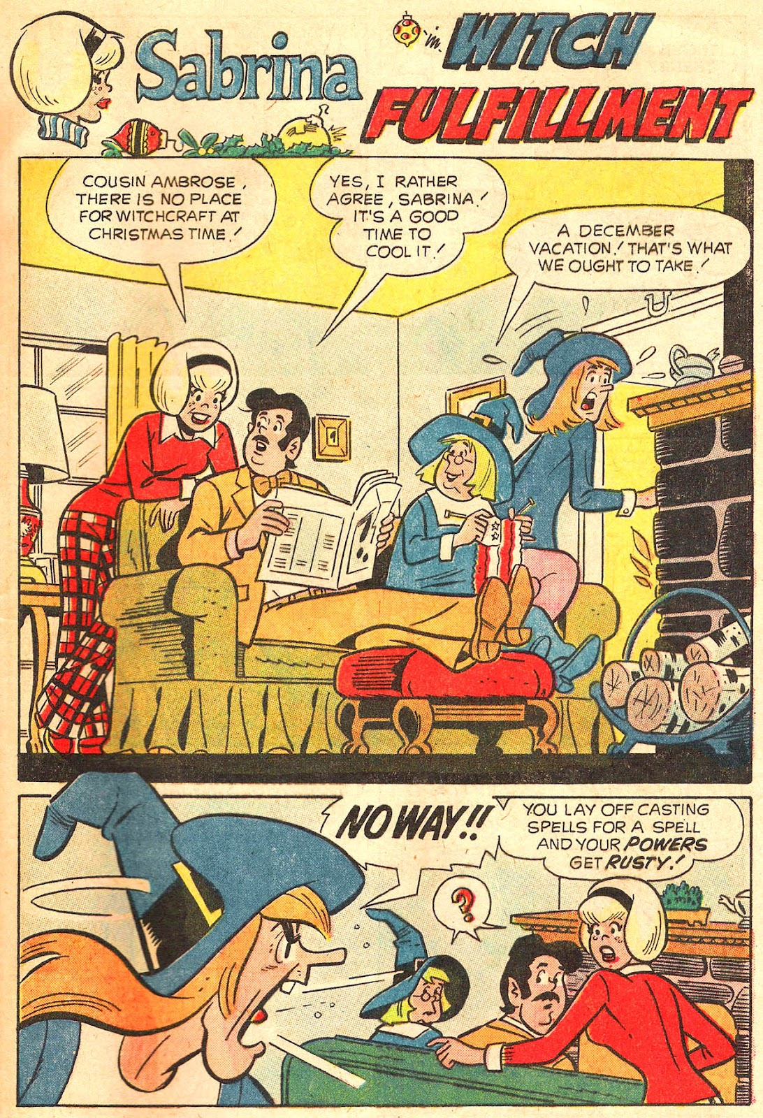 Sabrina The Teenage Witch (1971) Issue #17 #17 - English 45