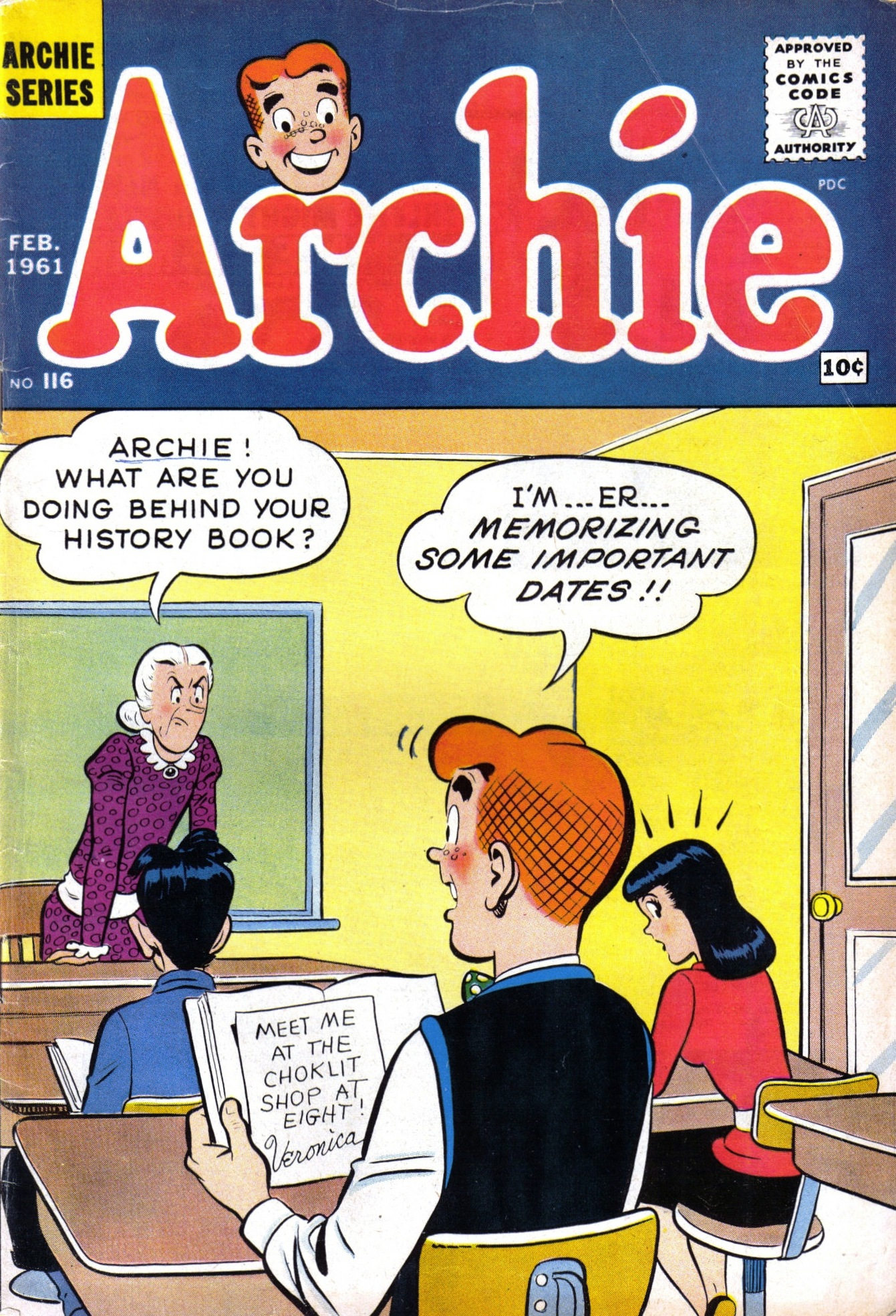 Read online Archie (1960) comic -  Issue #116 - 1