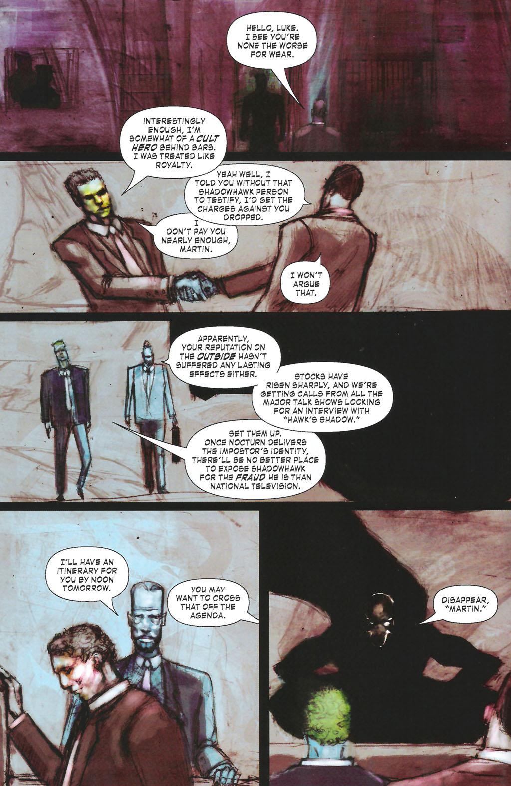 Read online ShadowHawk (2005) comic -  Issue #7 - 12
