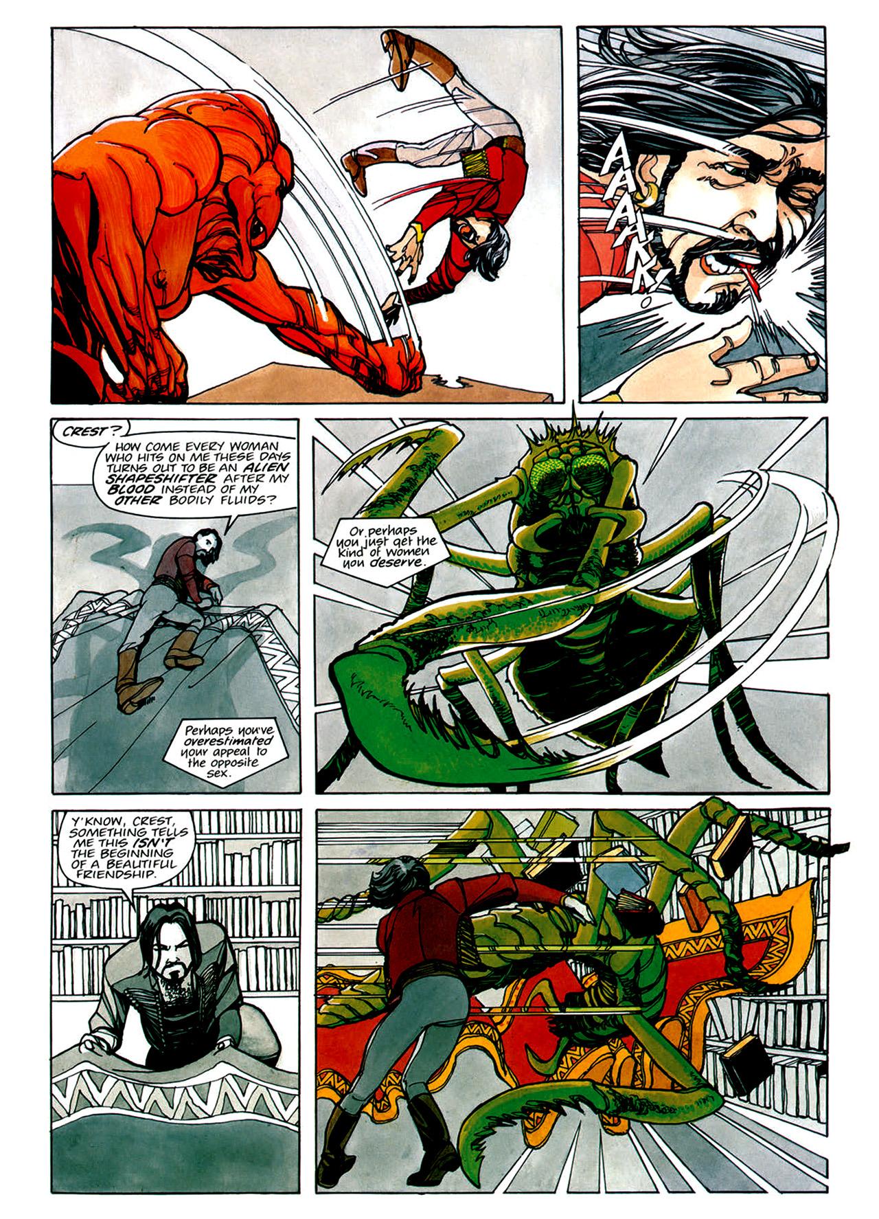Read online Nikolai Dante comic -  Issue # TPB 1 - 60