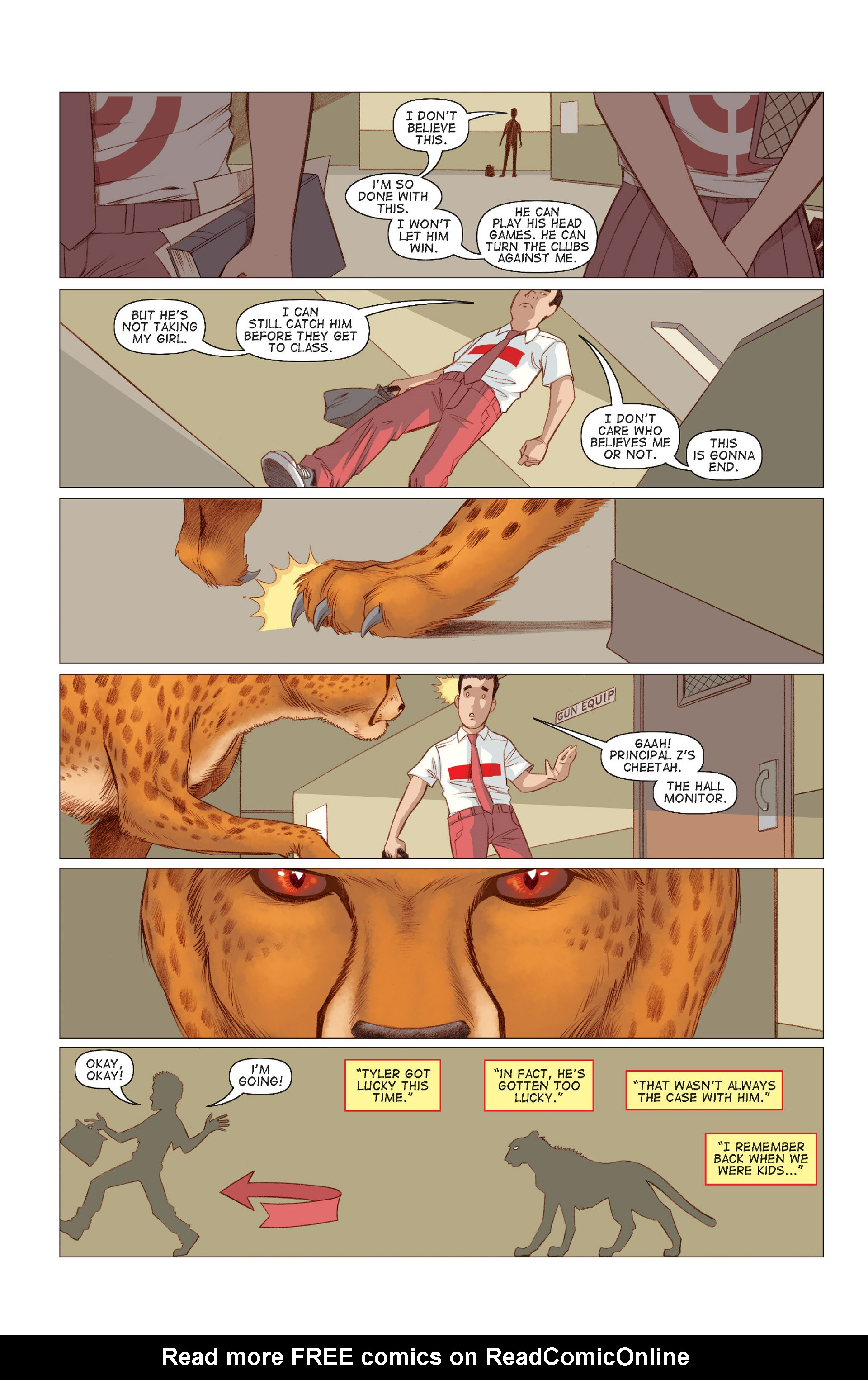 Read online Five Weapons comic -  Issue #7 - 17