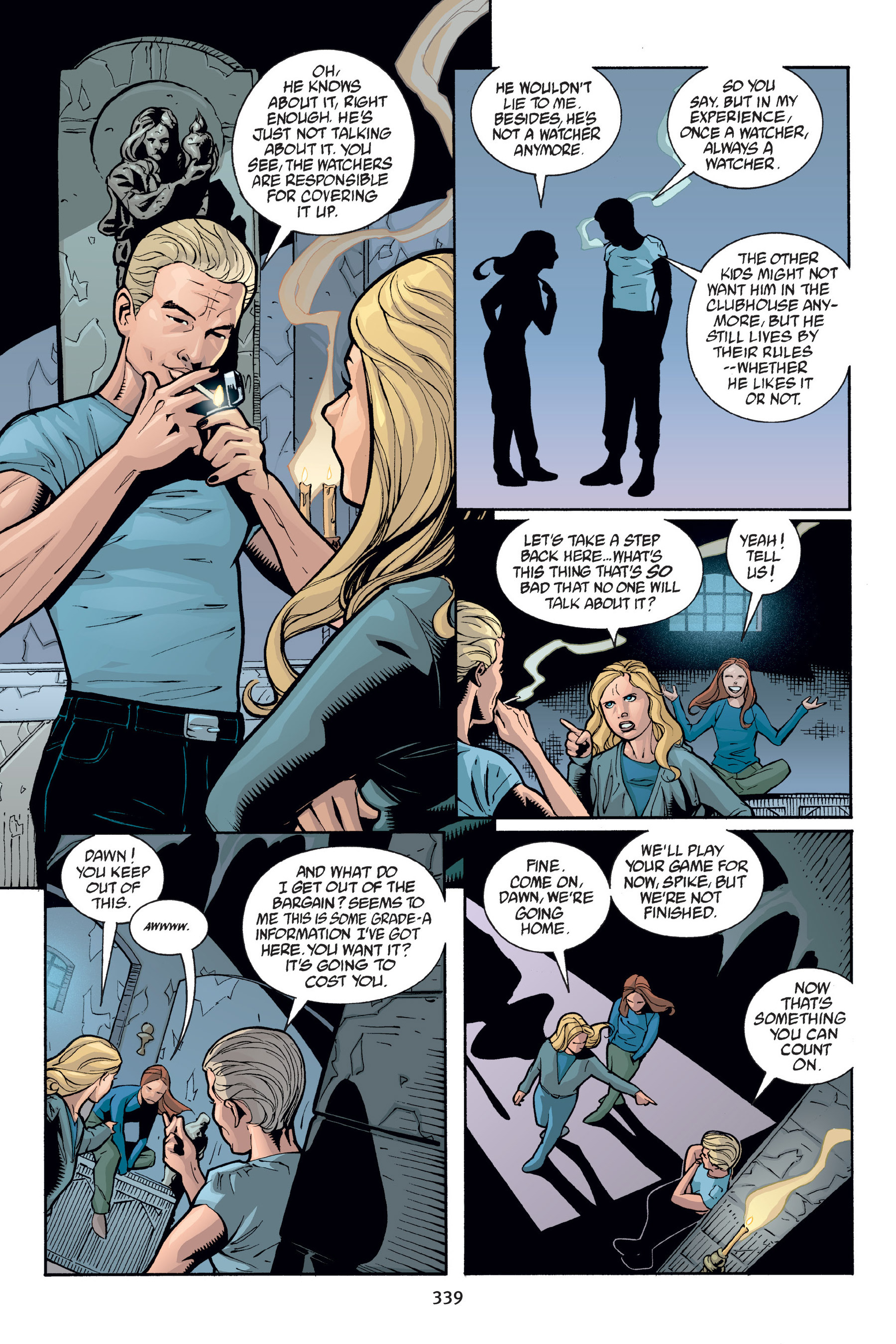 Read online Buffy the Vampire Slayer: Omnibus comic -  Issue # TPB 6 - 335