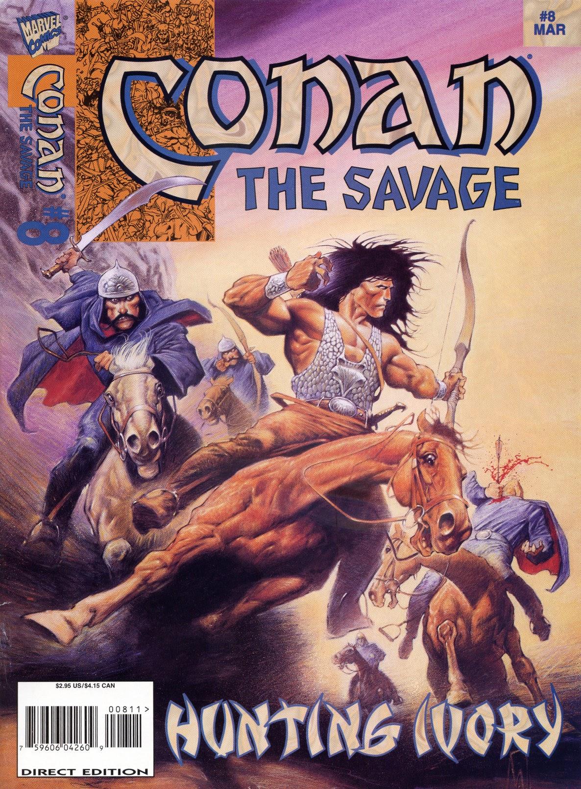 Conan the Savage 8 Page 1