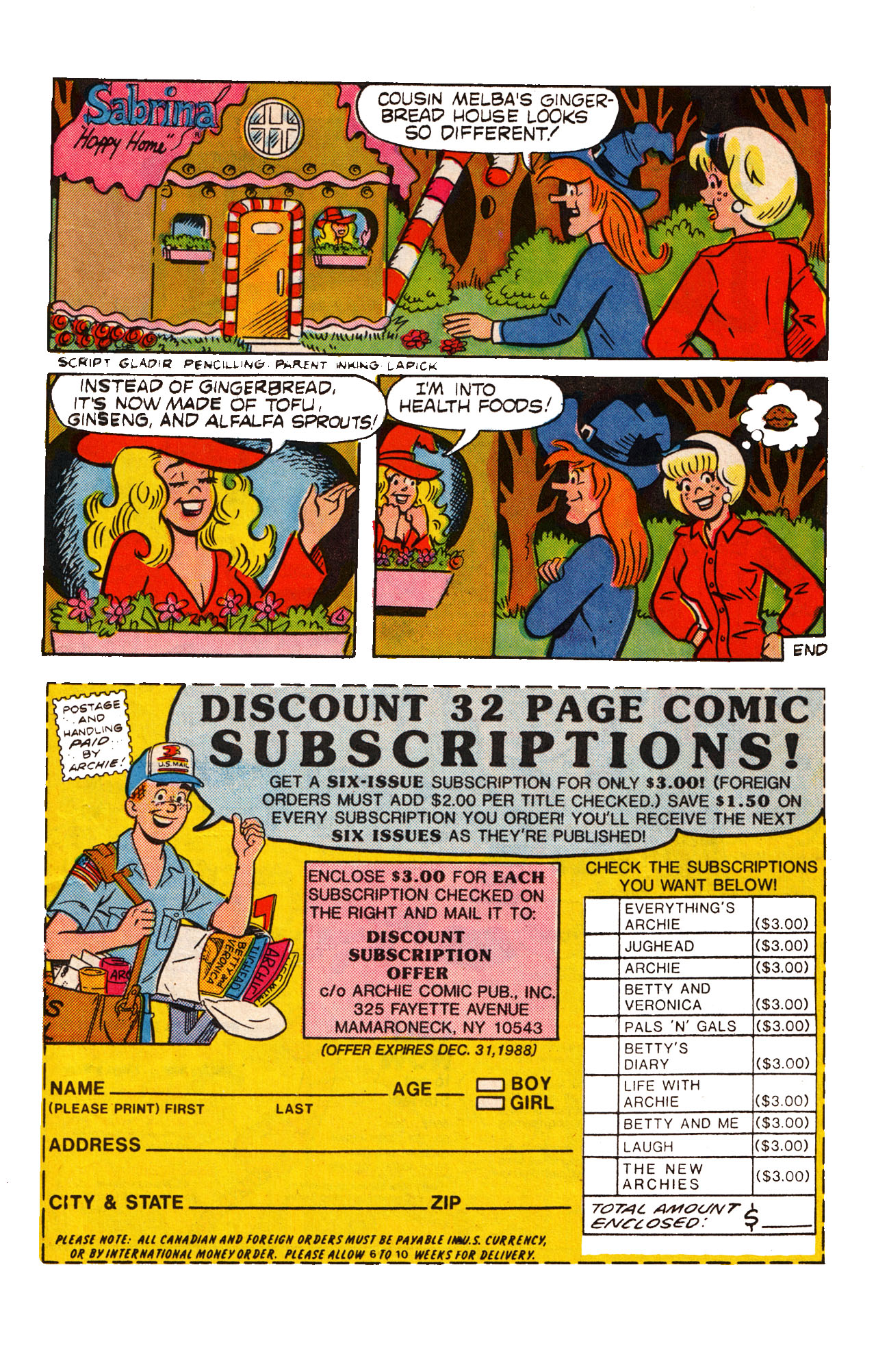 Read online Archie (1960) comic -  Issue #360 - 11