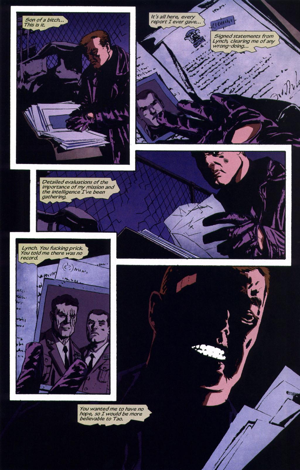 Read online Sleeper comic -  Issue #9 - 22