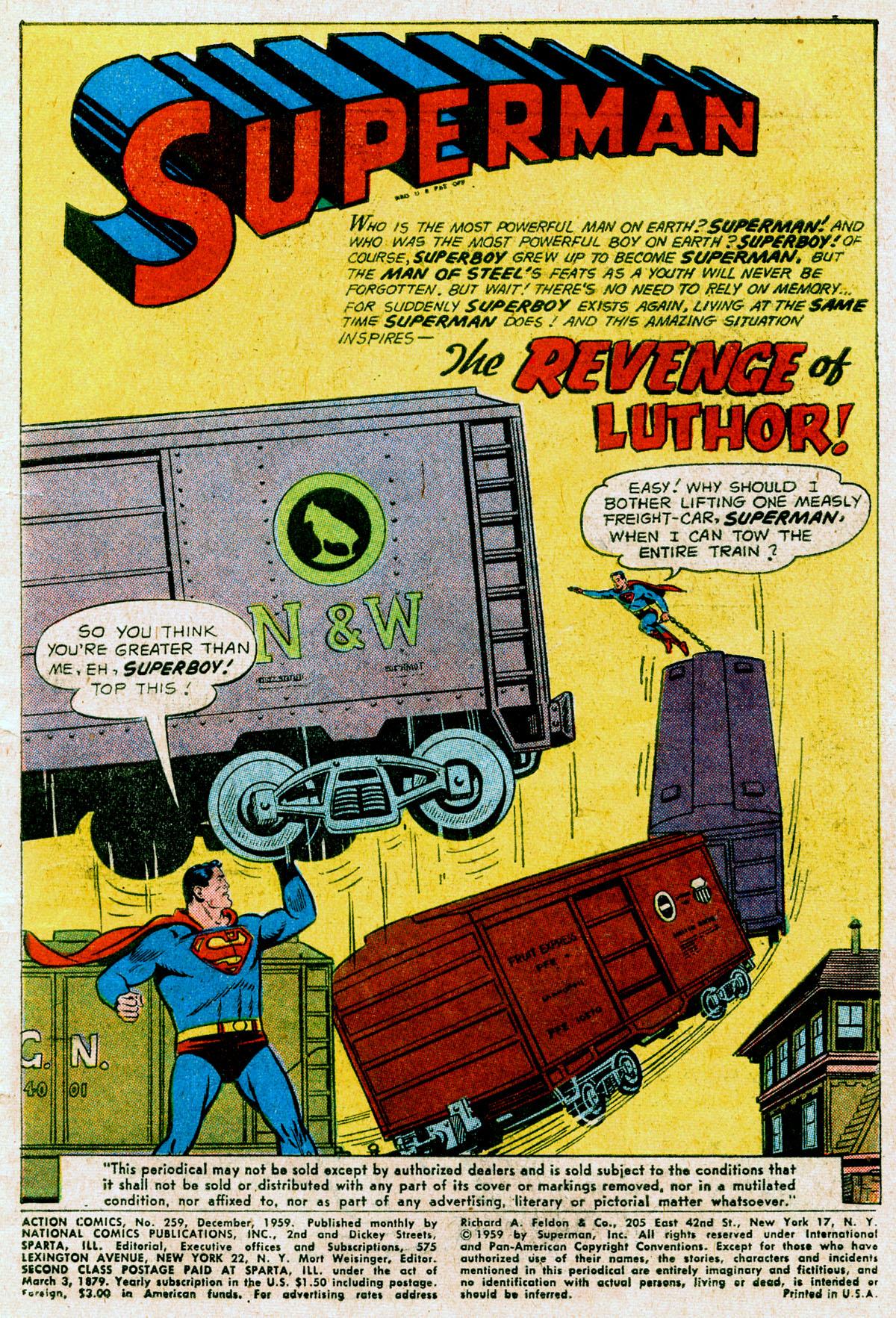 Action Comics (1938) 259 Page 2
