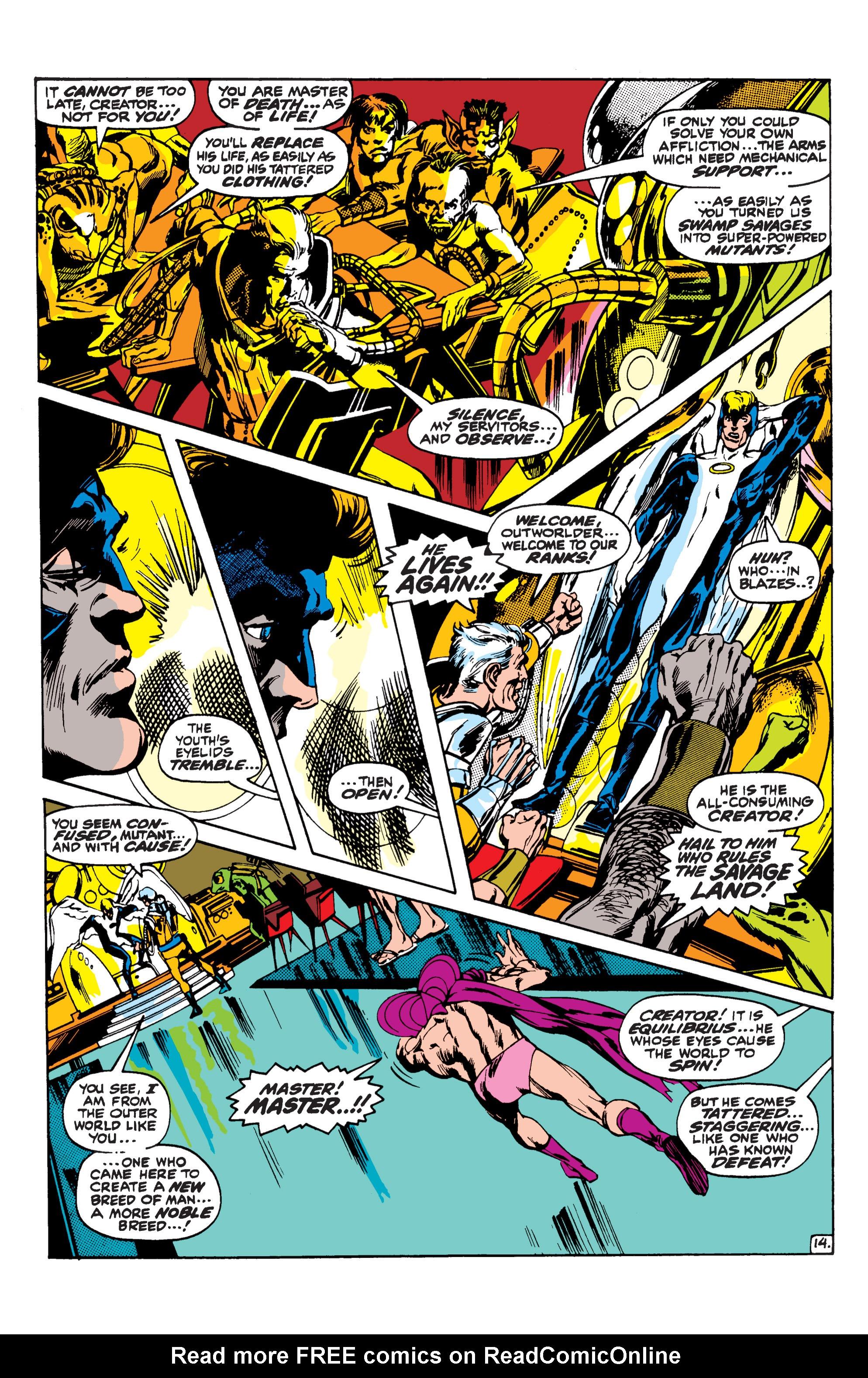 Uncanny X-Men (1963) 62 Page 14