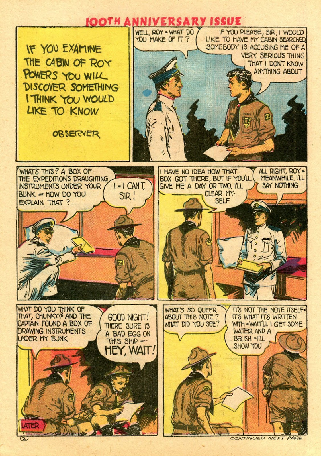 Read online Famous Funnies comic -  Issue #100 - 52