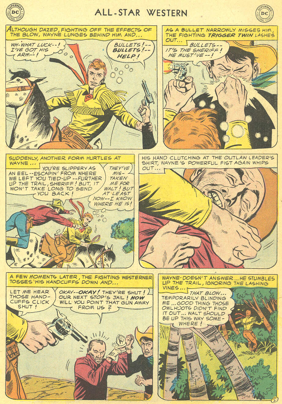 Read online All-Star Western (1951) comic -  Issue #92 - 7
