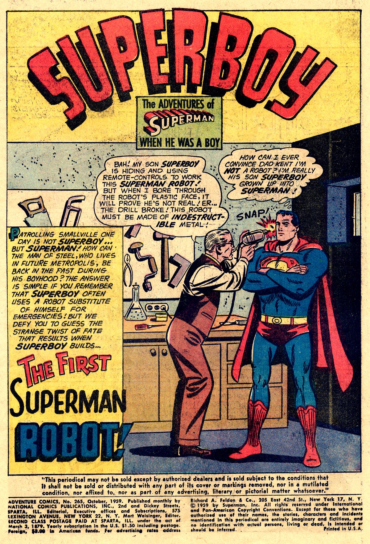 Read online Adventure Comics (1938) comic -  Issue #265 - 3