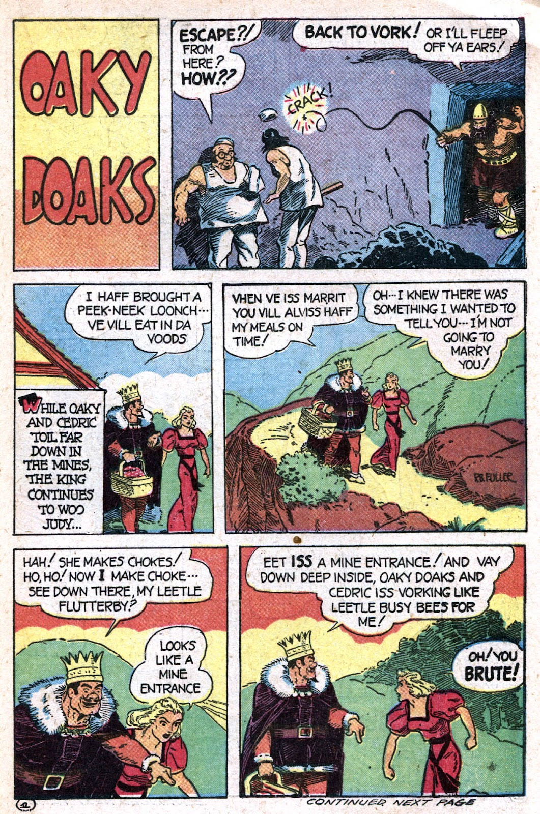 Read online Famous Funnies comic -  Issue #128 - 35