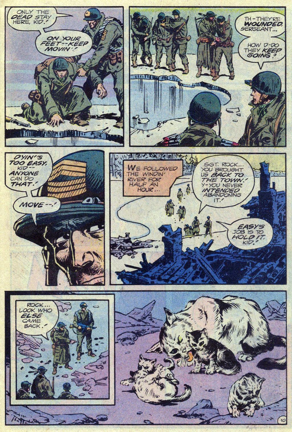 Read online Sgt. Rock comic -  Issue #369 - 10