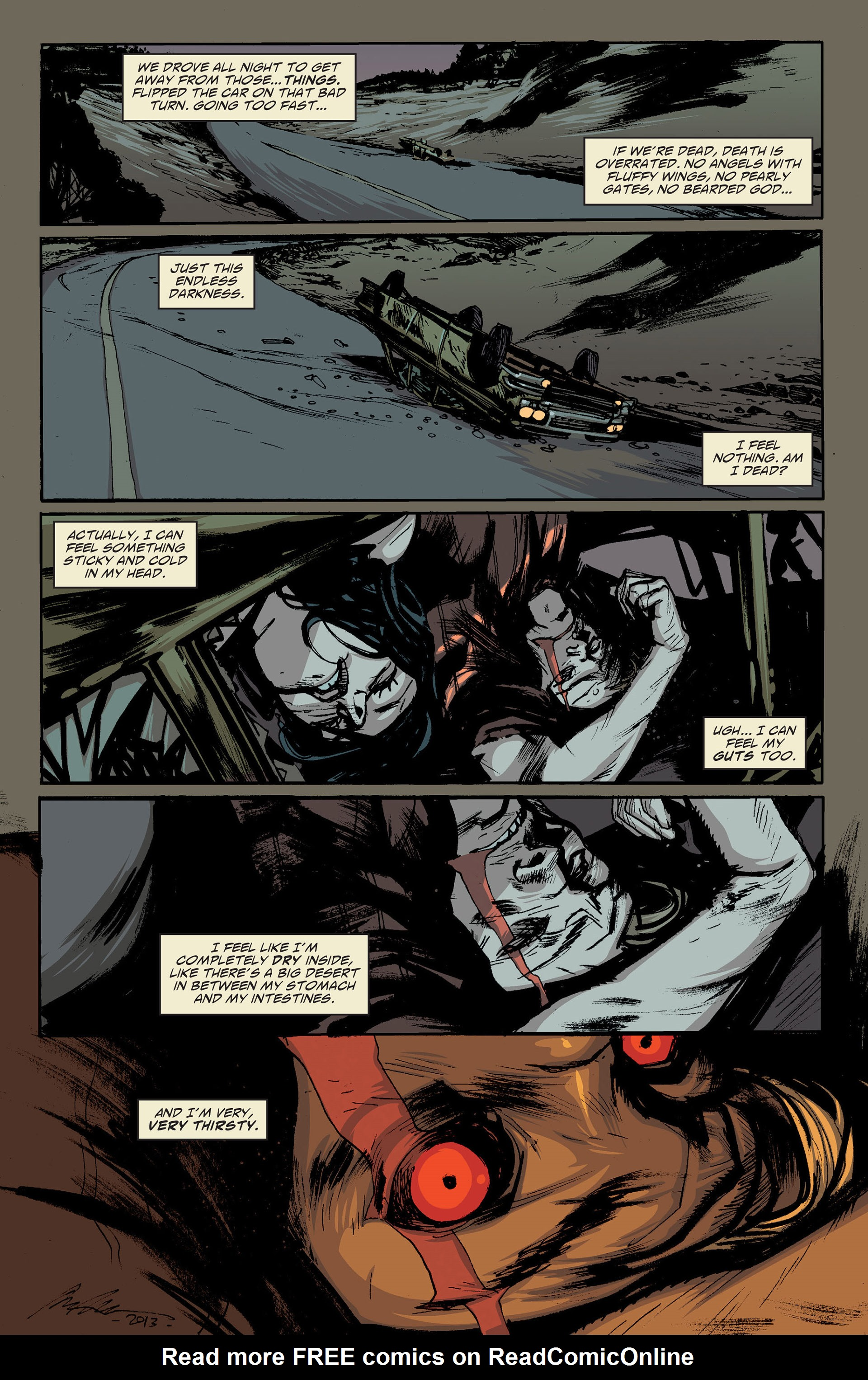 Read online American Vampire: The Long Road To Hell comic -  Issue # Full - 15