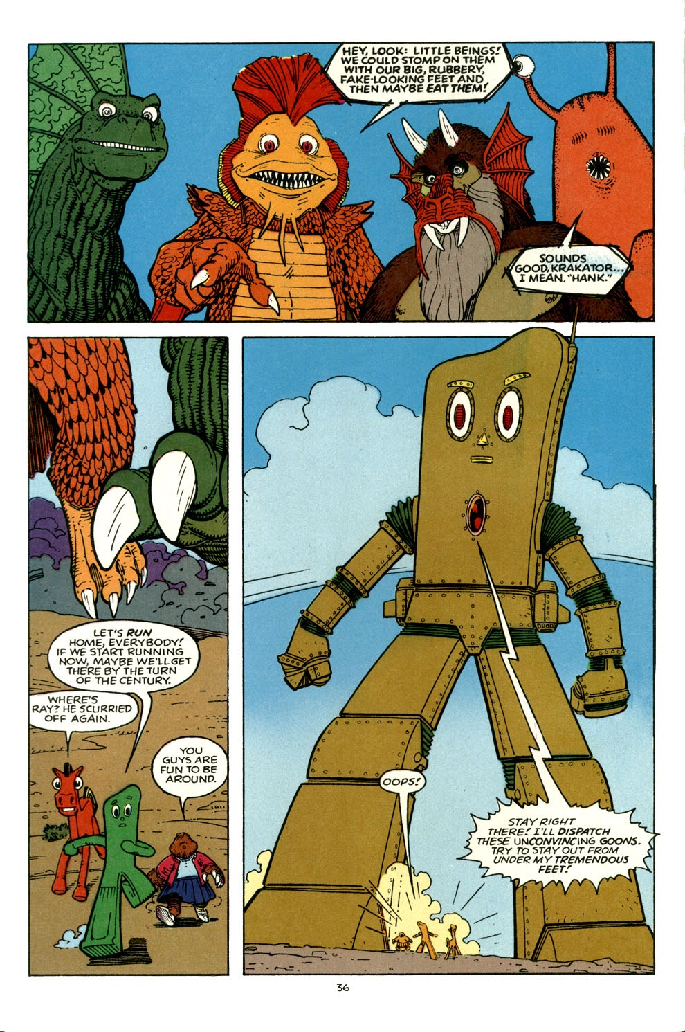 Gumby's Winter Fun Special issue Full - Page 35