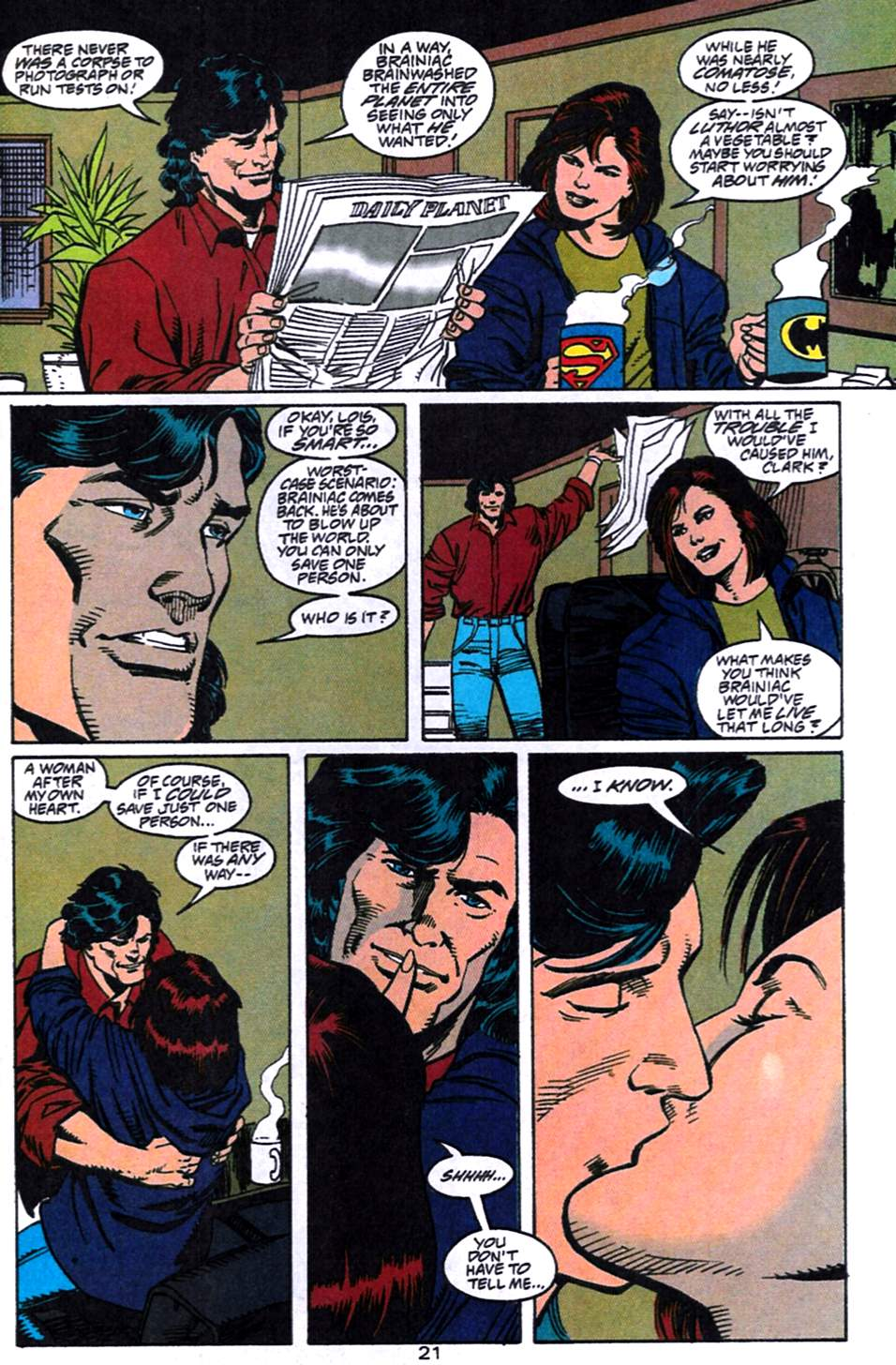 Read online Adventures of Superman (1987) comic -  Issue #519 - 22
