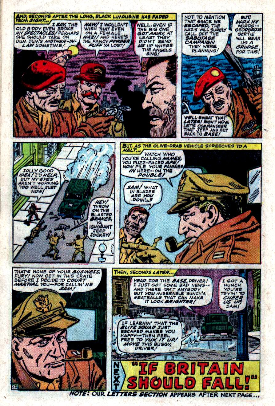 Read online Sgt. Fury comic -  Issue #47 - 27