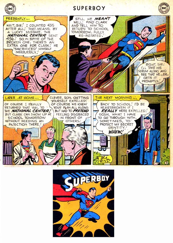 Superboy (1949) issue 71 - Page 19