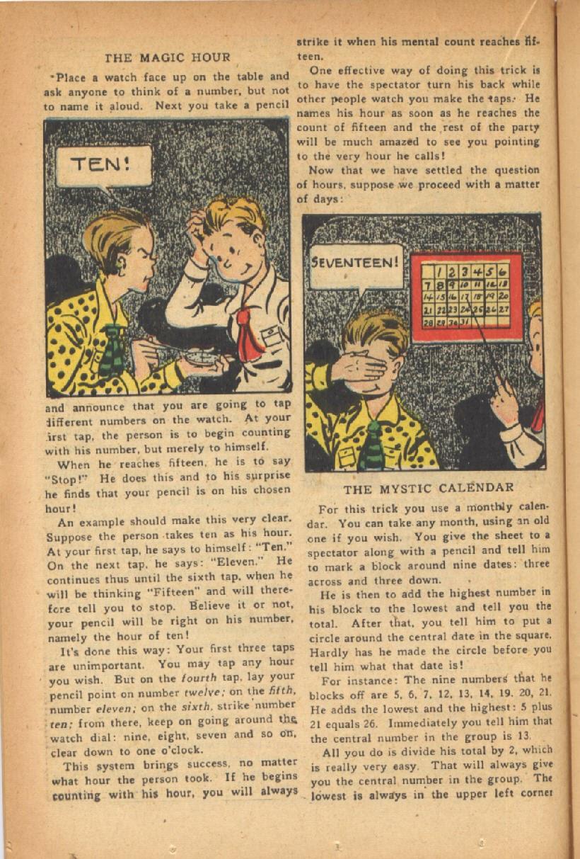 Read online Super-Magician Comics comic -  Issue #47 - 24