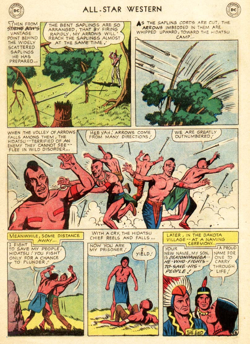 Read online All-Star Western (1951) comic -  Issue #97 - 14