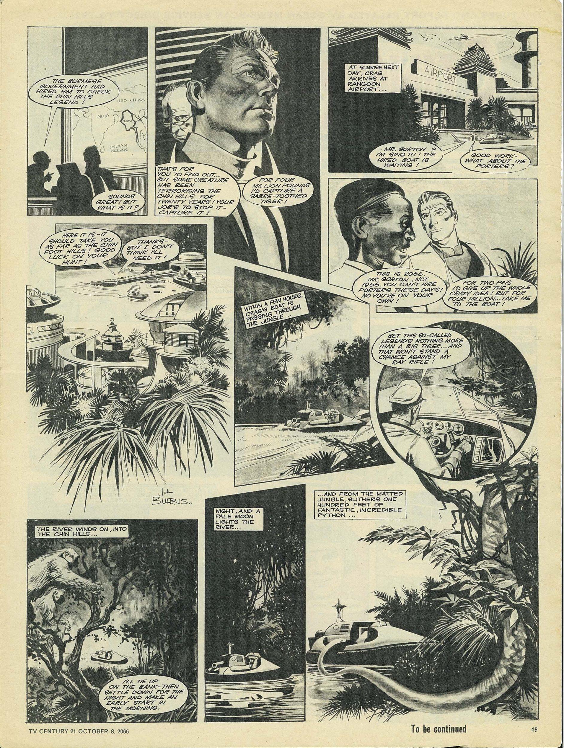 Read online TV Century 21 (TV 21) comic -  Issue #90 - 14