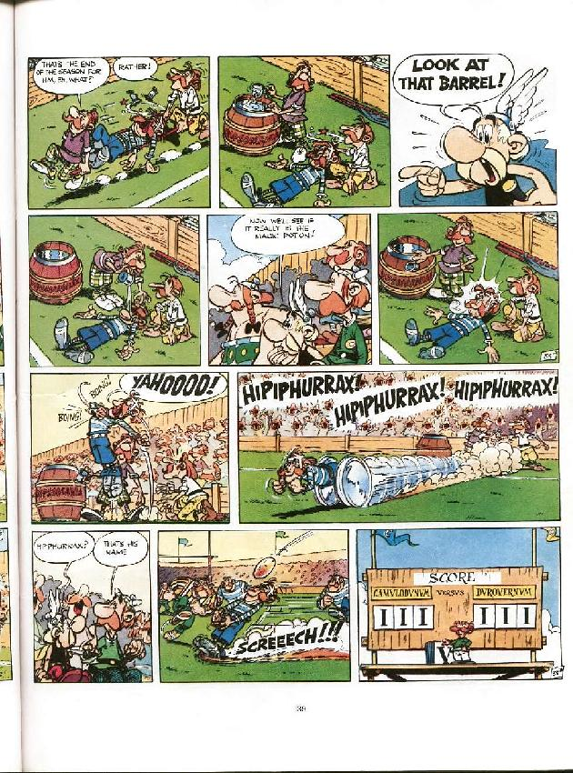 Read online Asterix comic -  Issue #8 - 36