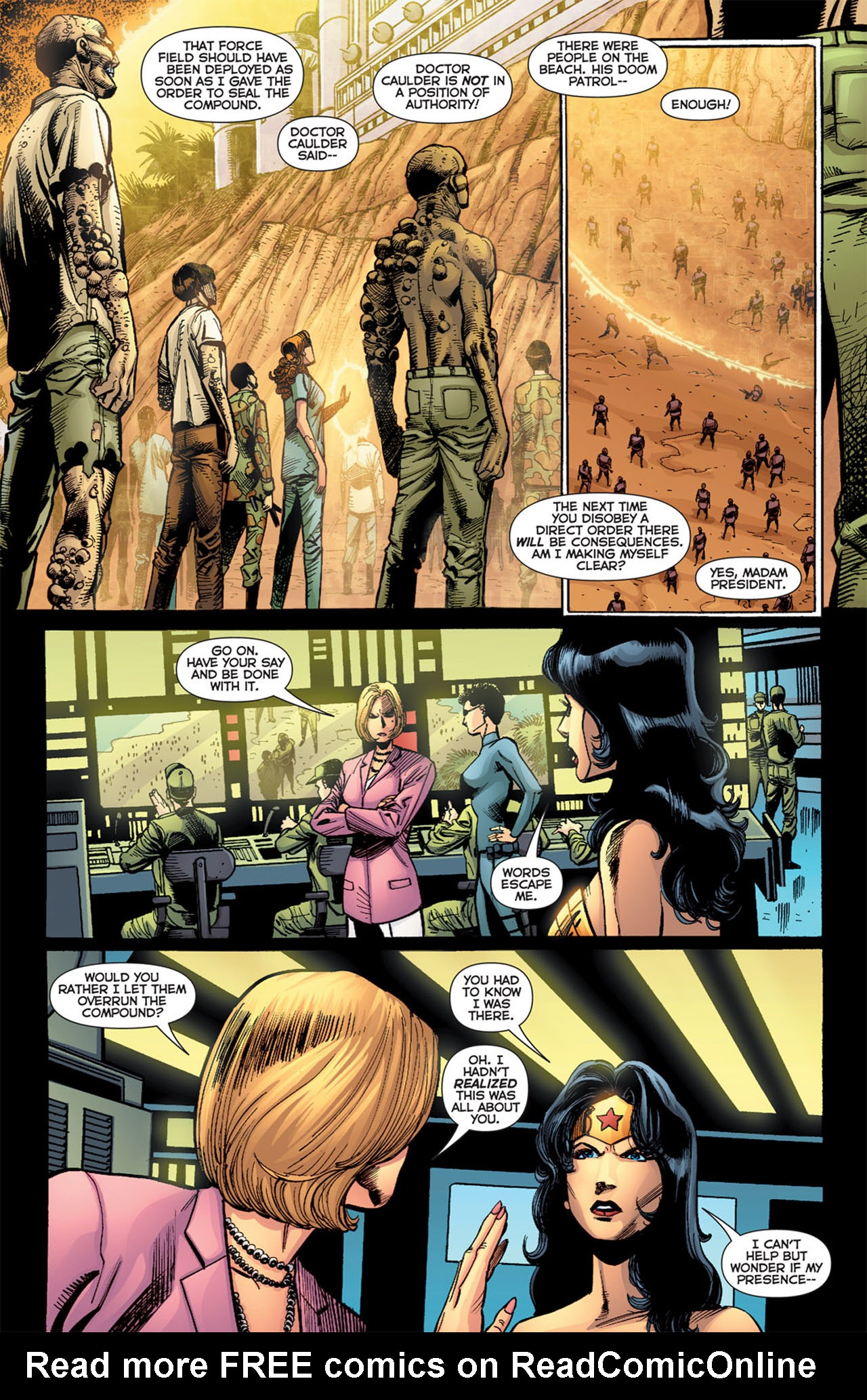 Read online 52 Aftermath: The Four Horsemen comic -  Issue #4 - 21