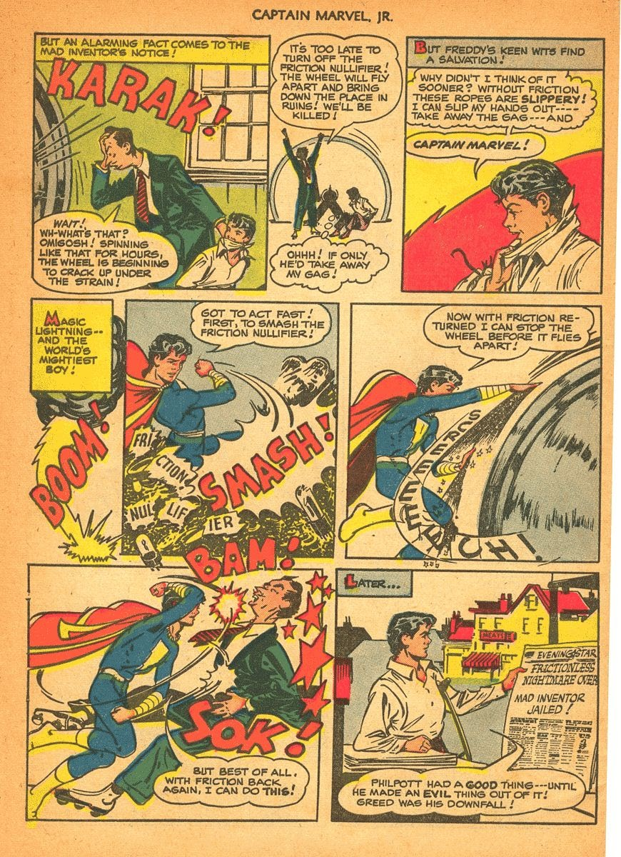 Captain Marvel, Jr. issue 84 - Page 34