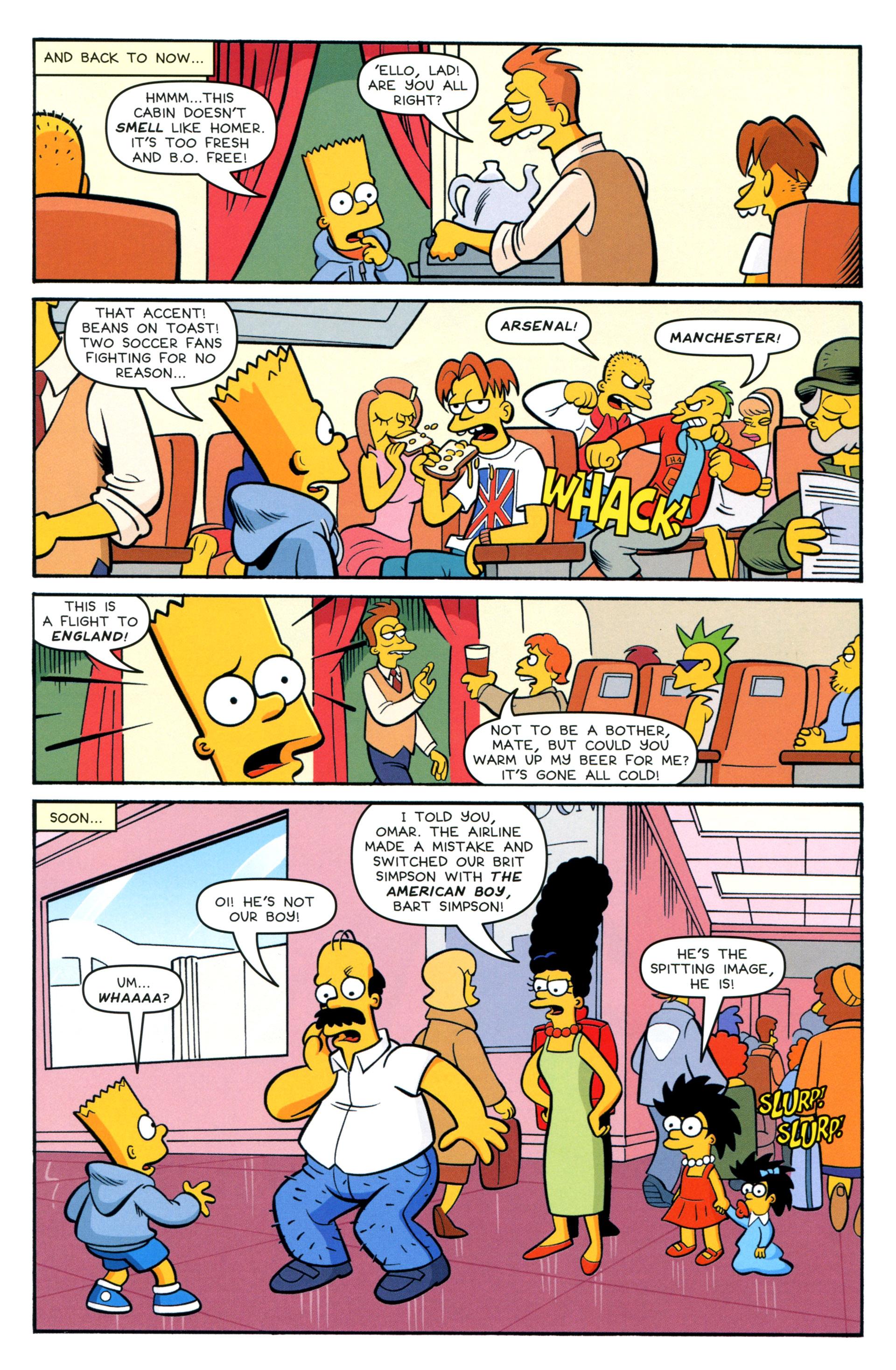 Read online Simpsons Comics comic -  Issue #208 - 6